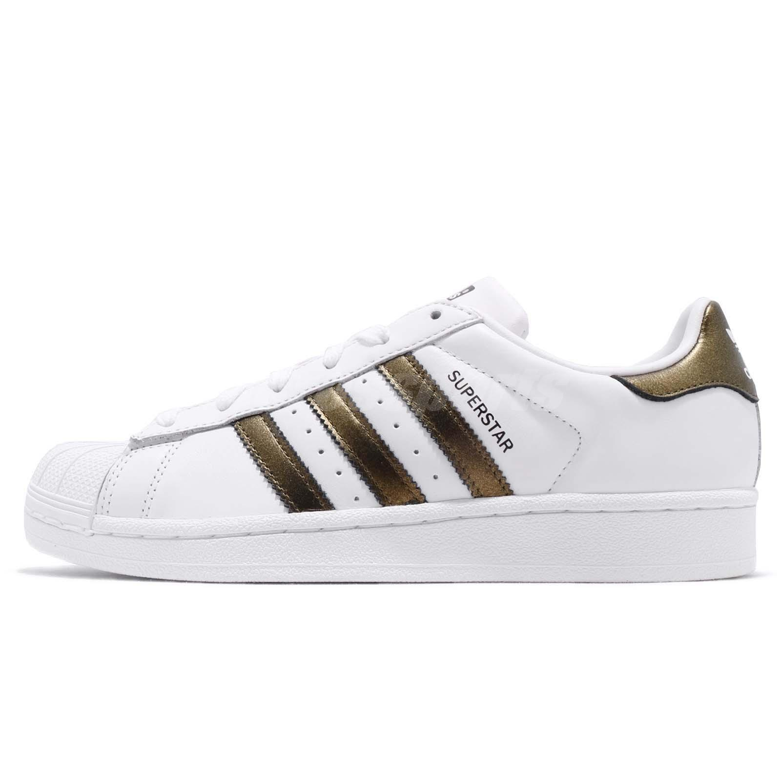 check out 709d5 d0e59 adidas Originals Superstar W White Bronze Black Women Casual Shoe Sneaker  B41513