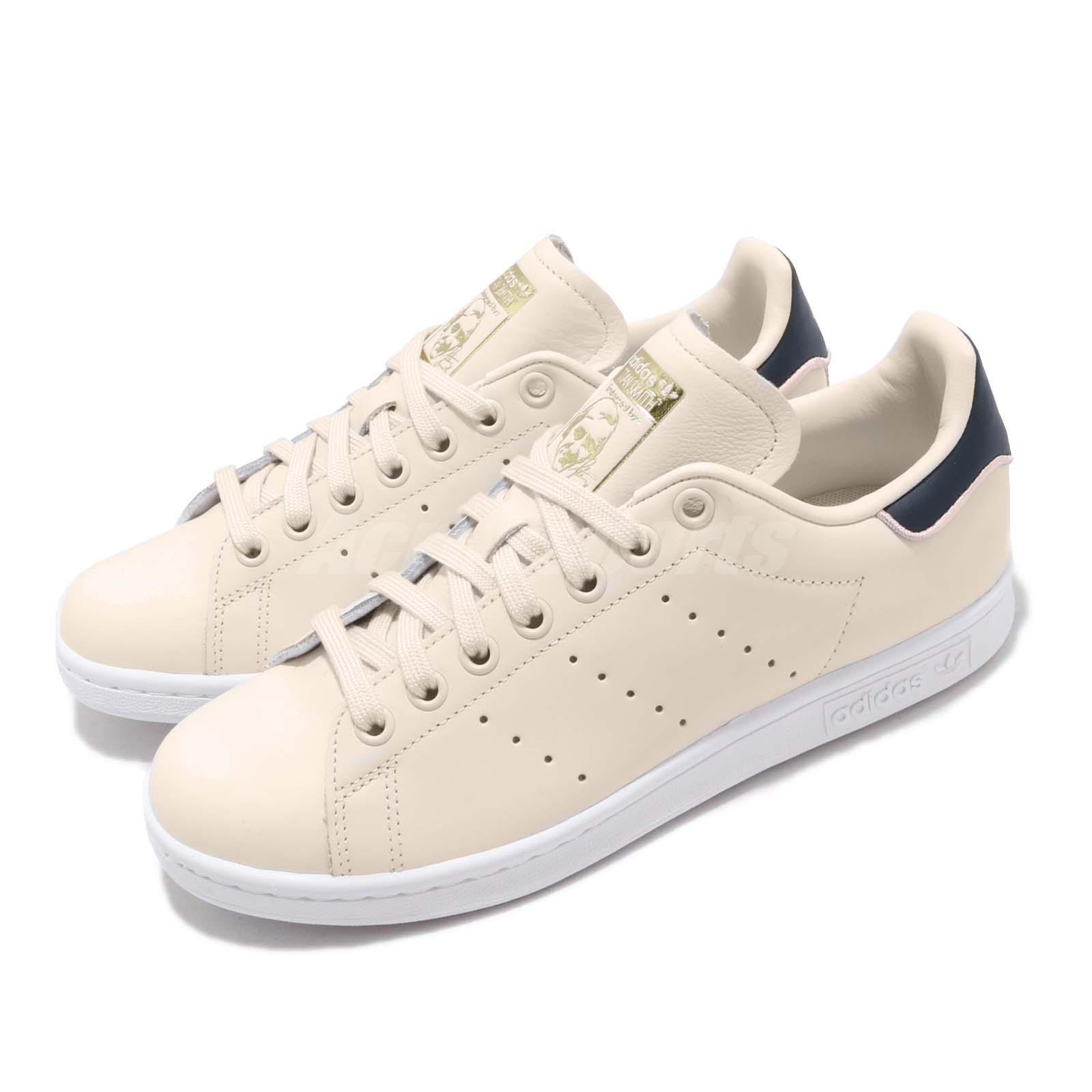 superior quality e3509 9555f Details about adidas Originals Stan Smith W Ivory Navy Women Casual Shoes  Sneakers B41600