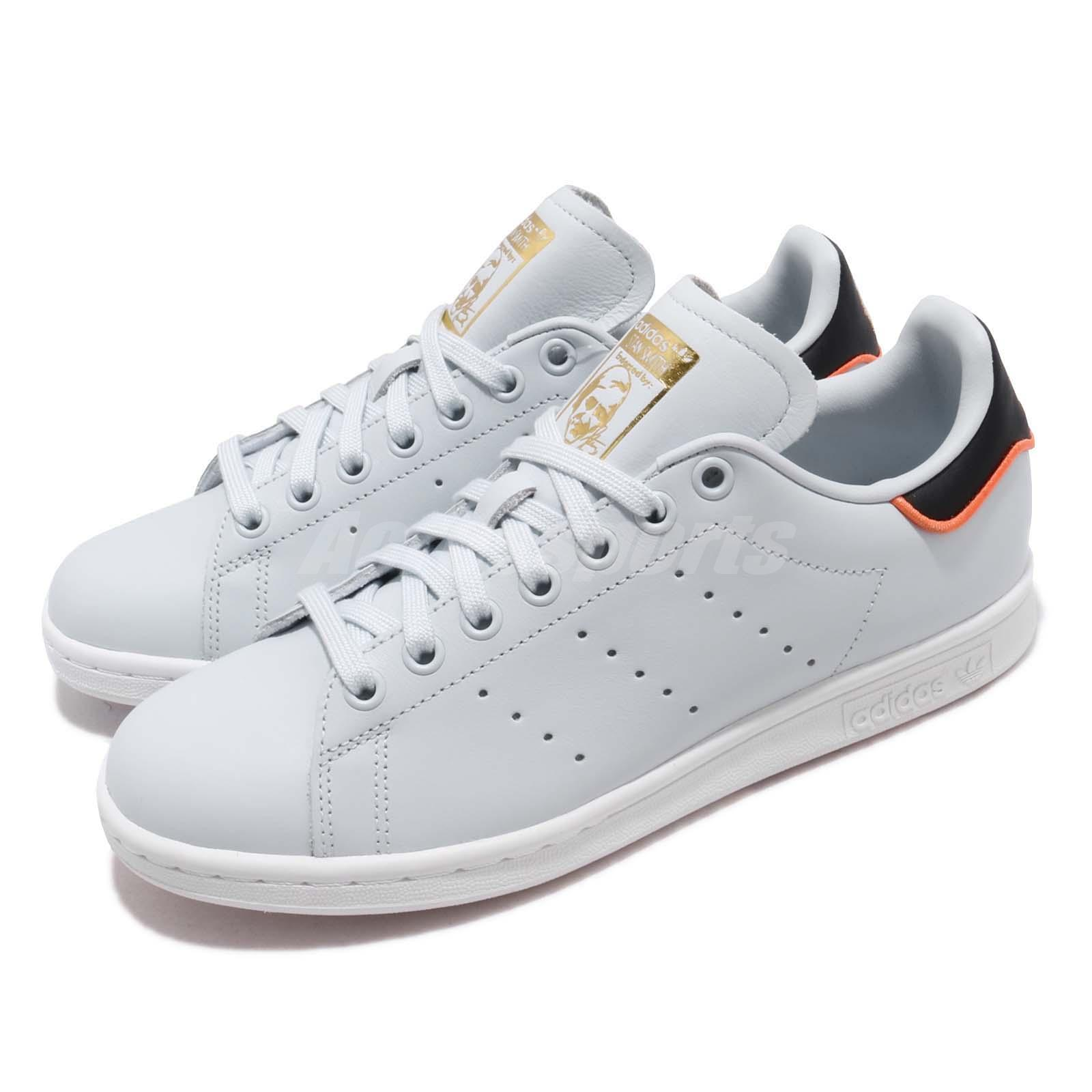 Details about adidas Originals Stan Smith W Blue Tint Black Women Casual Shoes Sneakers B41601