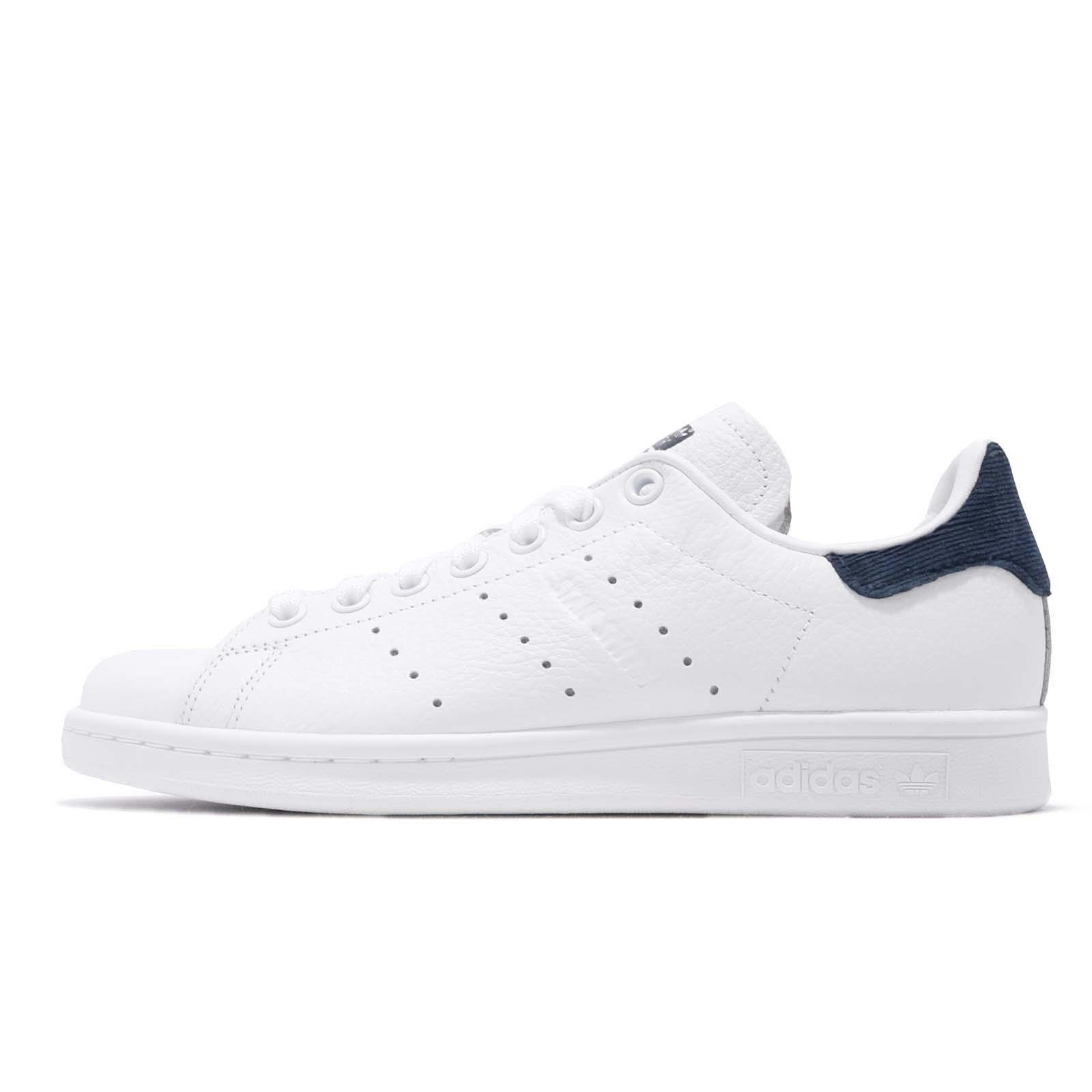 new products dfbc3 af48a Details about adidas Originals Stan Smith W White Navy Women Lifestyle  Casual Shoes B41626