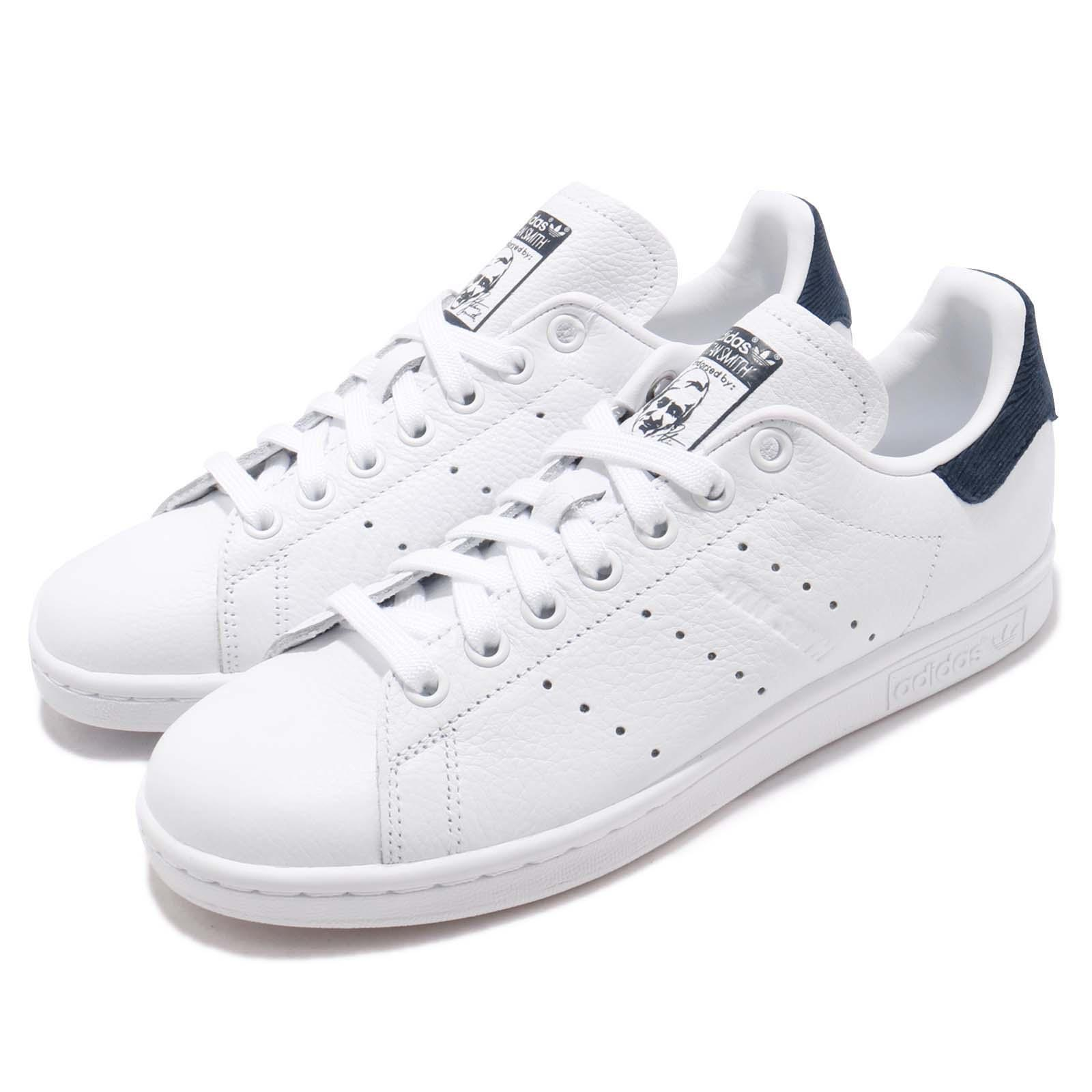 new products 8448d 80d0b Details about adidas Originals Stan Smith W White Navy Women Lifestyle  Casual Shoes B41626