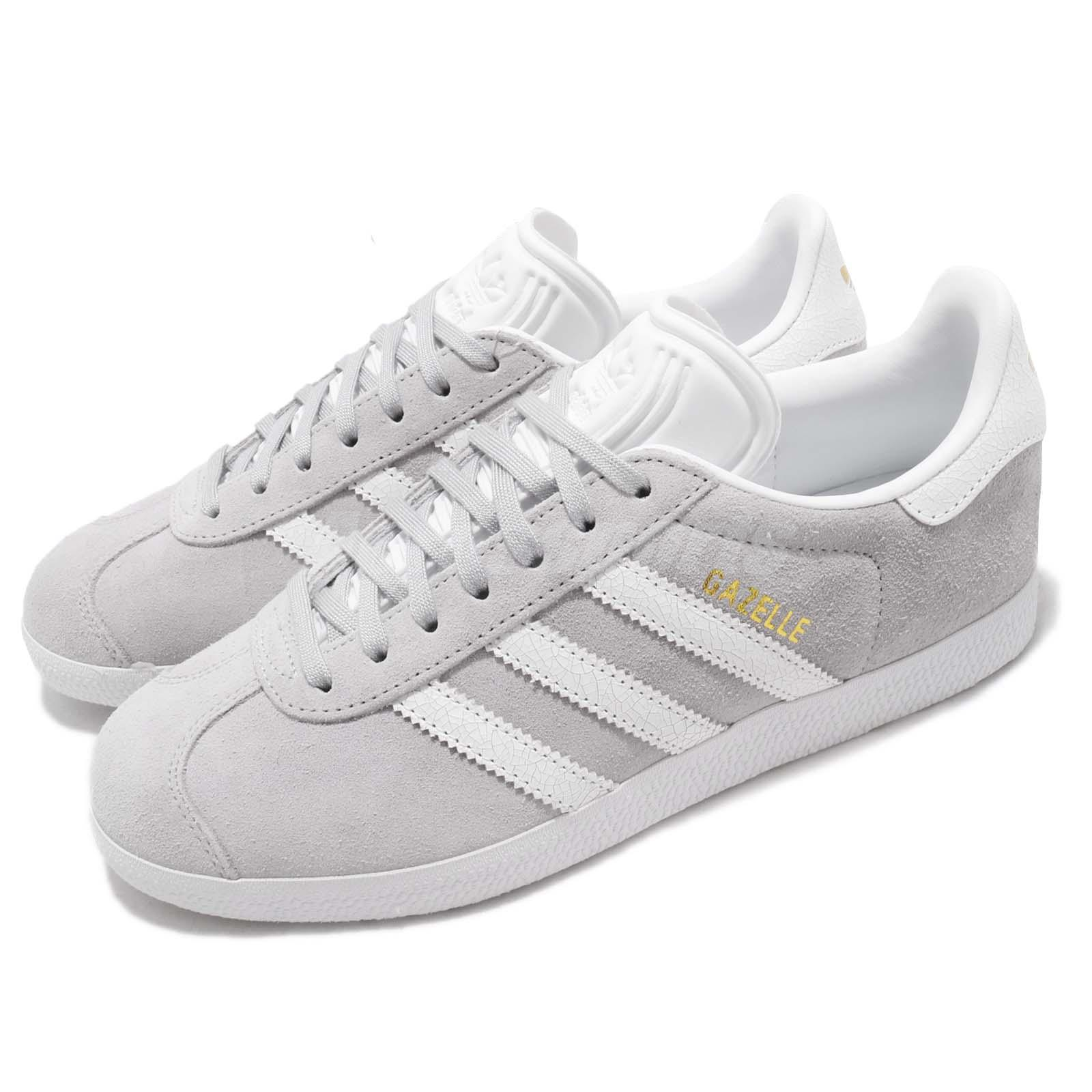 99d8c4711e4b Details about adidas Originals Gazelle W Grey White Women Casual Classic  Shoes Sneakers B41659