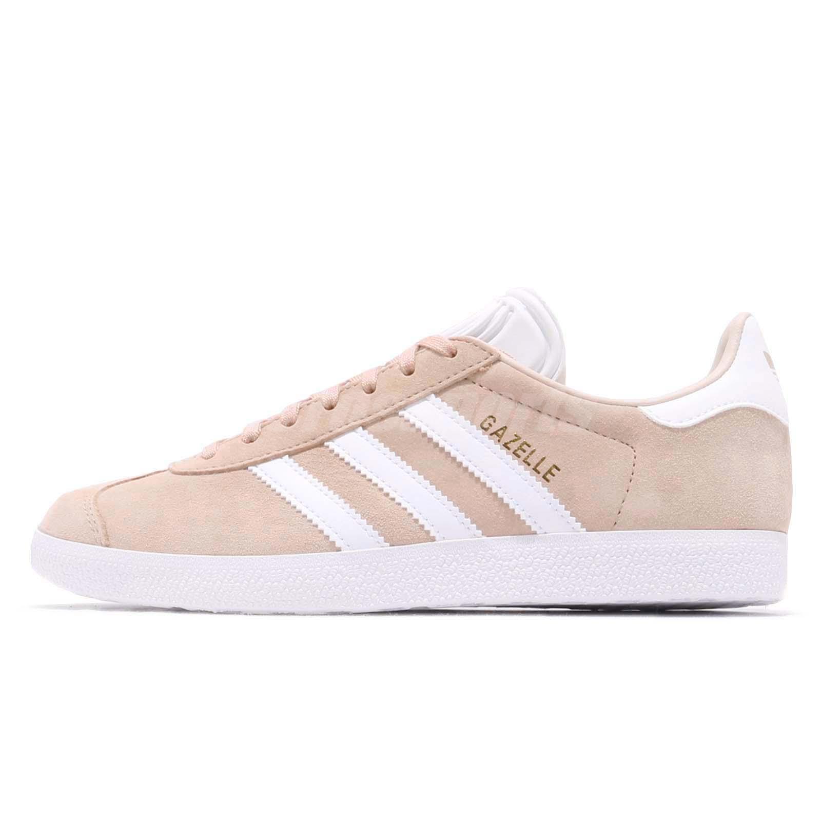 adidas Originals Gazelle W Ash Pearl White Women Casual Shoes Sneakers  B41660 cb5cf932e