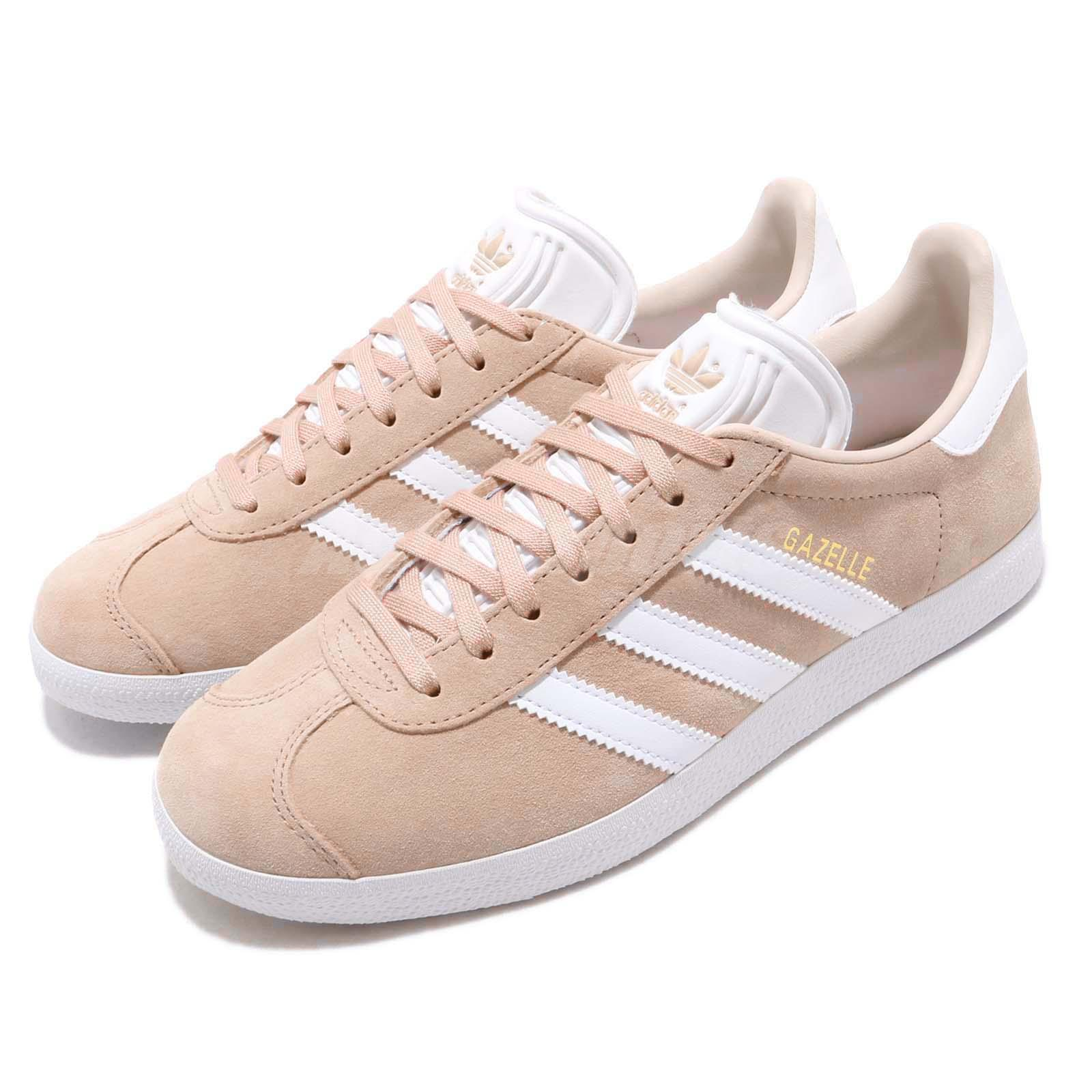 Details about adidas Originals Gazelle W Ash Pearl White Women Casual Shoes Sneakers B41660
