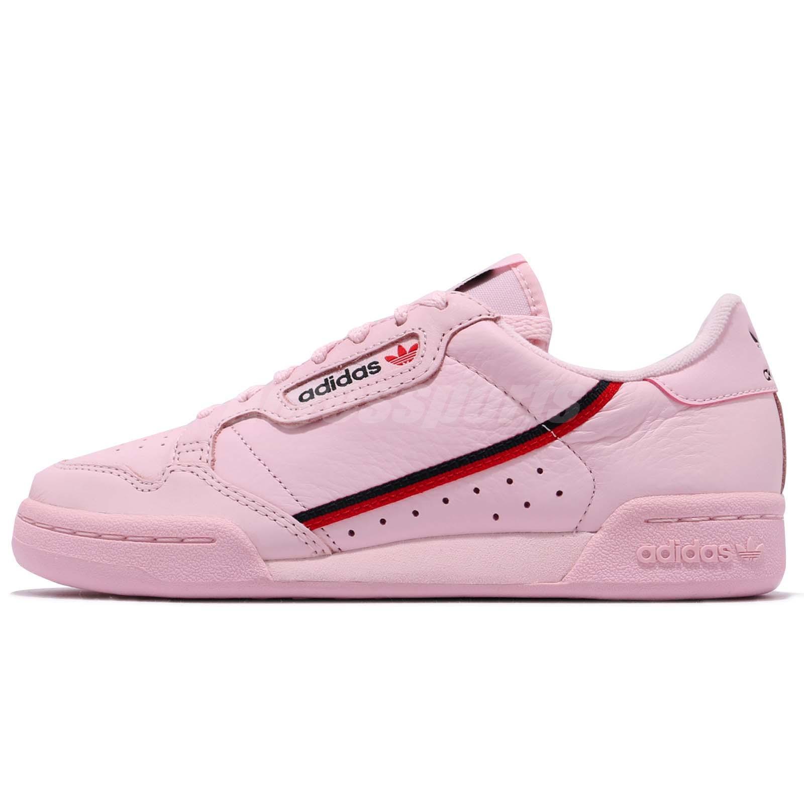 half off 7210d 7b29f adidas Originals Continental 80 Pink Scarlet Navy Men Women Casual Shoes  B41679
