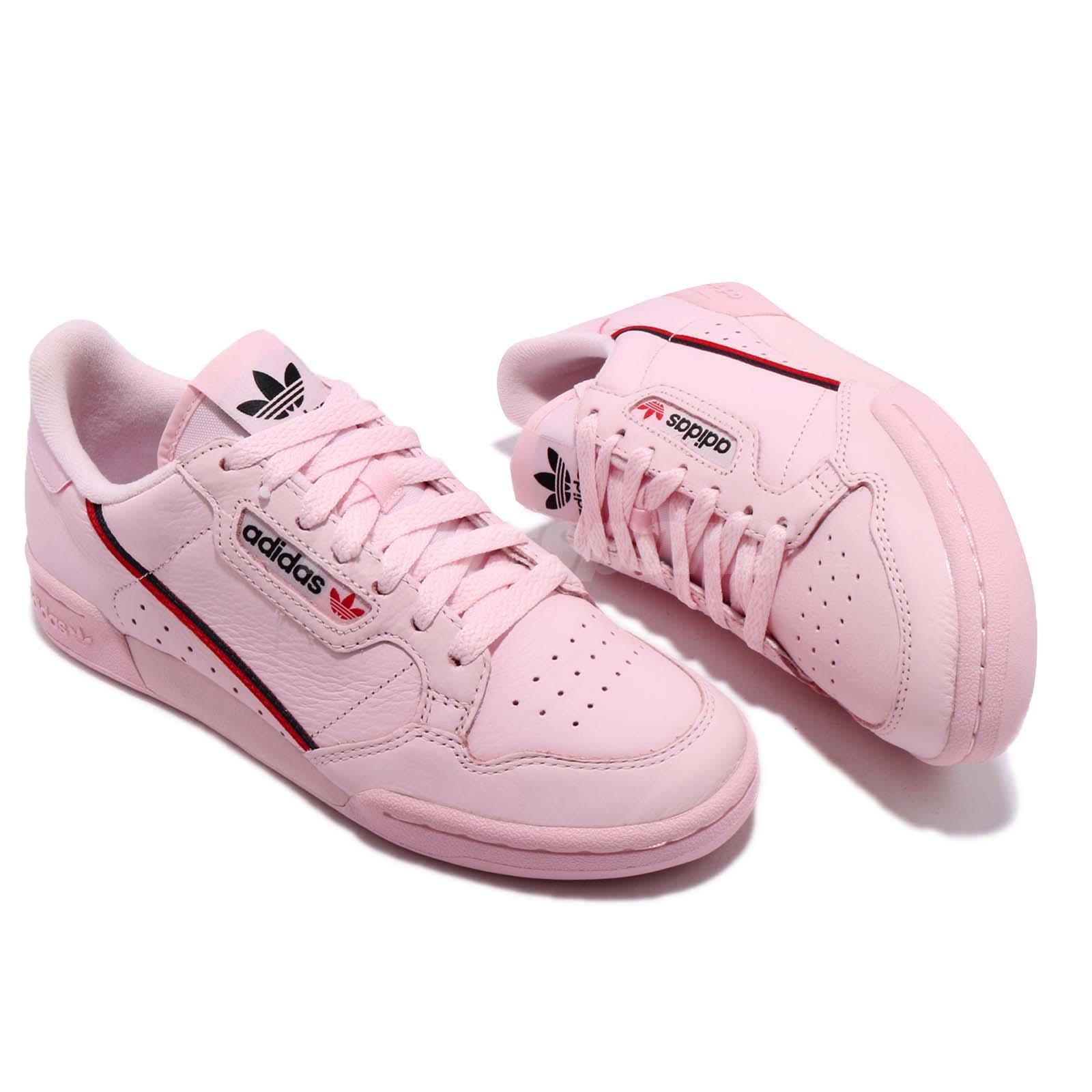 Adidas Originals Continental 80 Pink Lifestyle Sneakers Men Classic