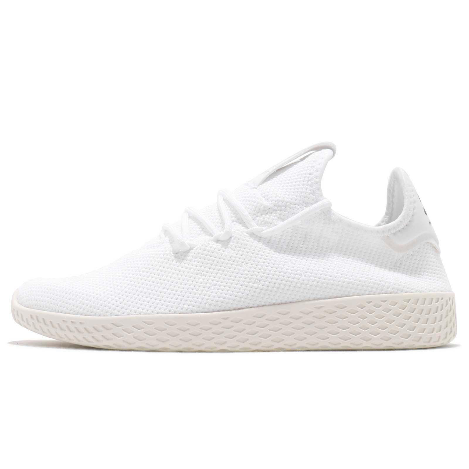 brand new 9fdc6 57e83 adidas Originals PW Tennis Hu Pharrell Williams White Black Men Women B41792