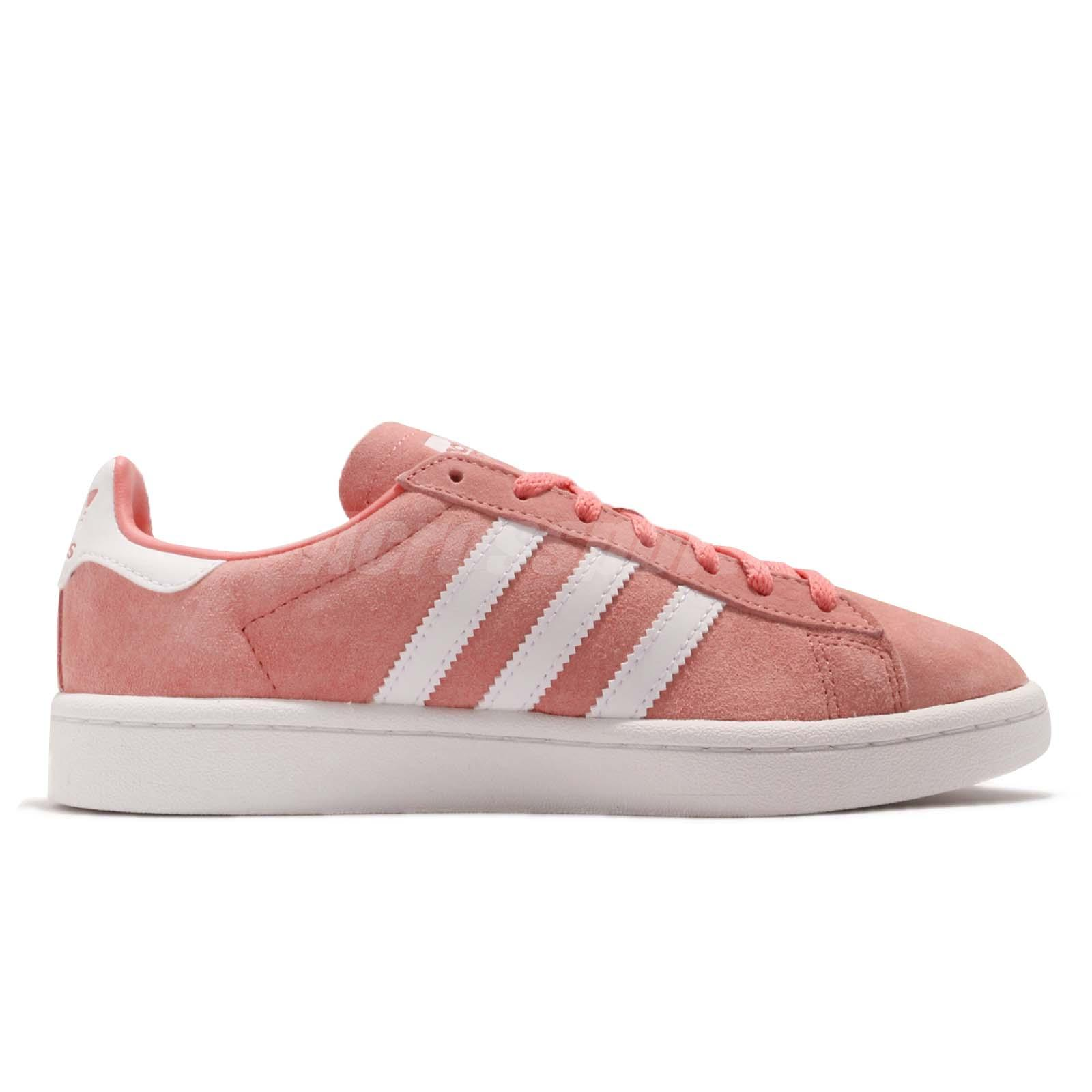 Details about adidas Originals Campus W Tactile Rose White Women Casual  Shoes Sneakers B41939