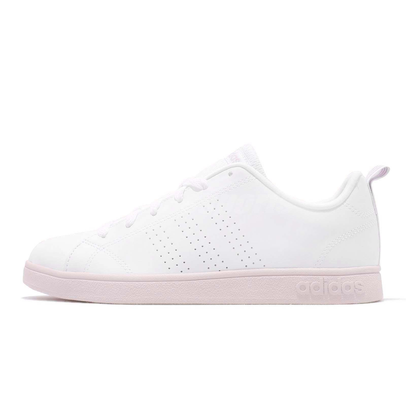 best sneakers a60b3 d0321 adidas Neo VS Advantage CL White Ice Purple Women Lifestyle Casual Shoes  B42186