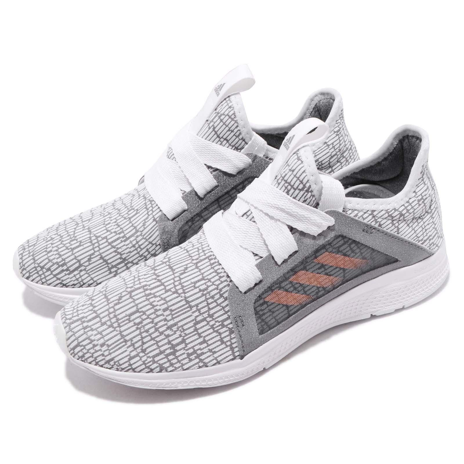 b7c23f2ce64a3 Details about adidas Edge Lux J Grey Haze Coral White Kid Junior Women  Running Shoes B42194