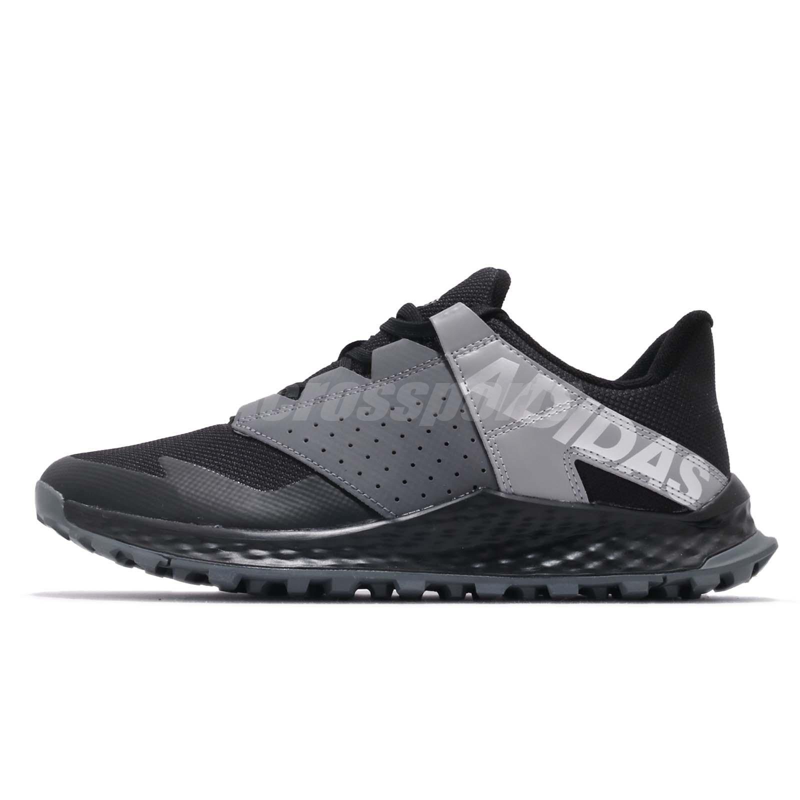 40d8e90e1d4b53 adidas Vigor Bounce K Black Grey Kid Junior Preschool Shoes Sneakers B42320