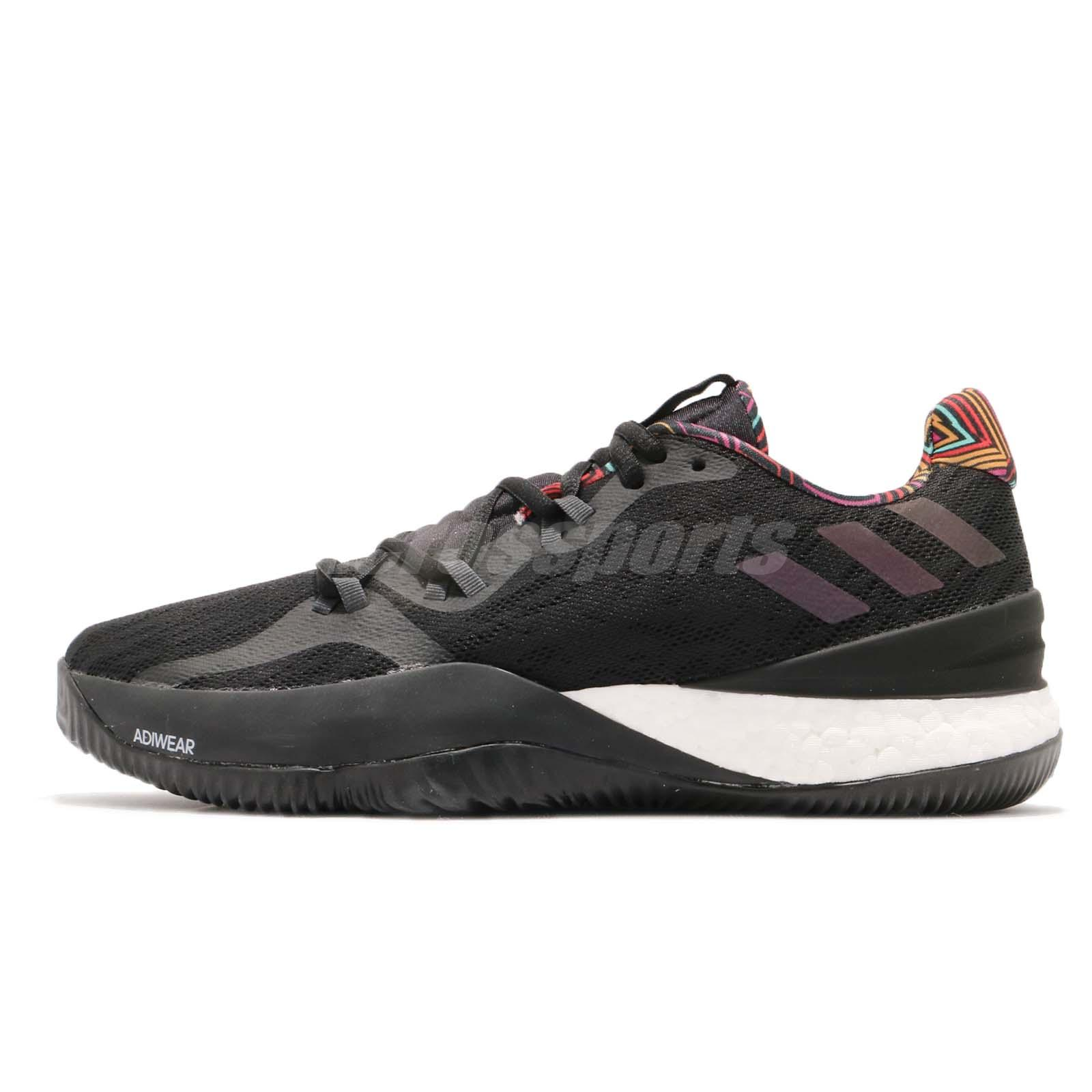 best loved 829df da1ab adidas Crazy Light Boost 2018 Summer Pack Black Grey Men Basketball Shoes  B43799