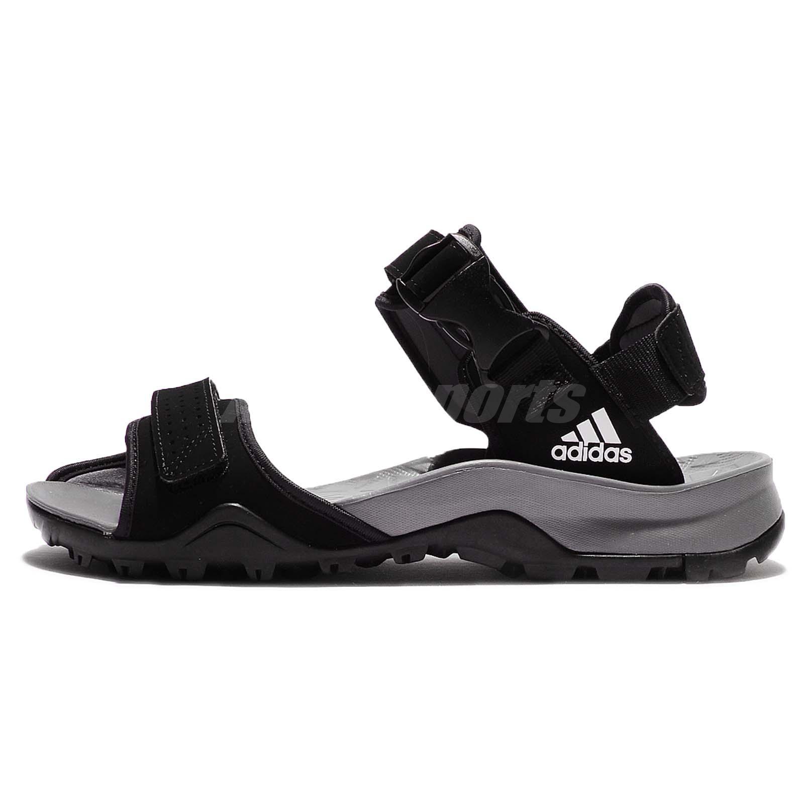 save off 746d3 0e550 adidas Cyprex Ultra Sandal II 2 Black Grey Men Outdoor Hiking Sandals B44191