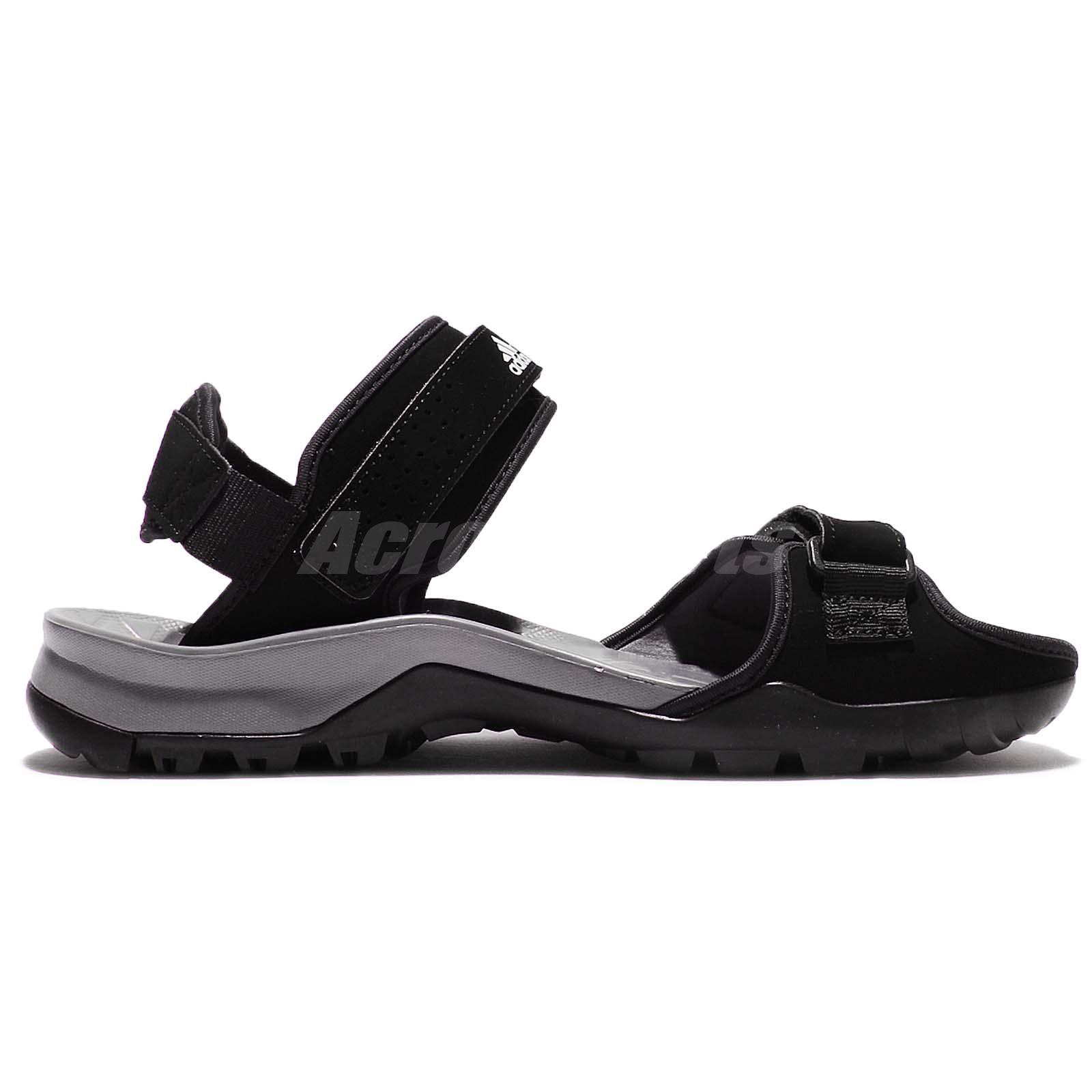 adidas Cyprex Ultra Sandal II 2 Black Grey Men Outdoor Hiking ... 60bbbb21d