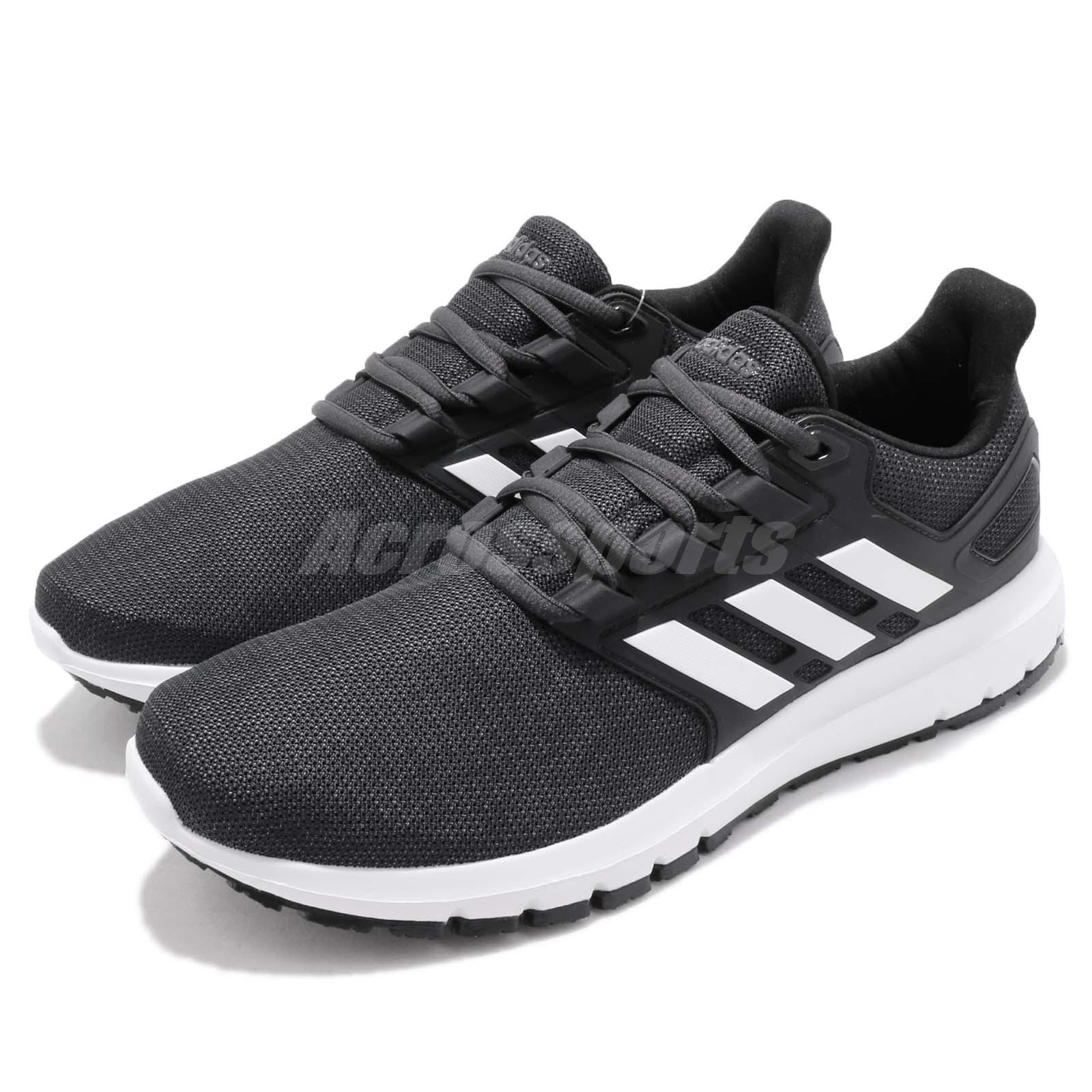 18181d91c8e Details about adidas Energy Cloud 2 II Black White Carbon Men Running Shoes  Sneakers B44750