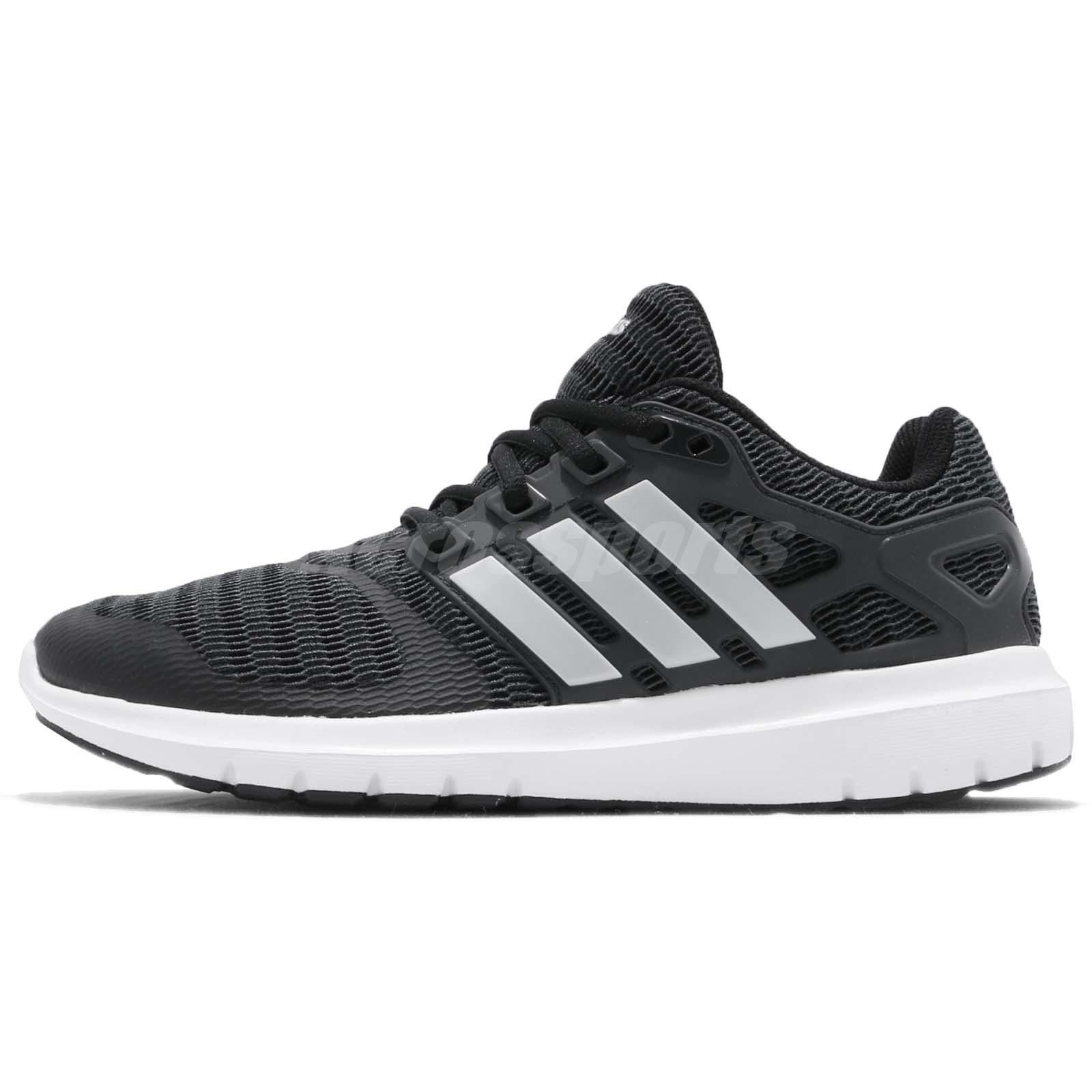3a997c875f adidas Energy Cloud V Black Silver White Women Running Shoes Sneakers B44846