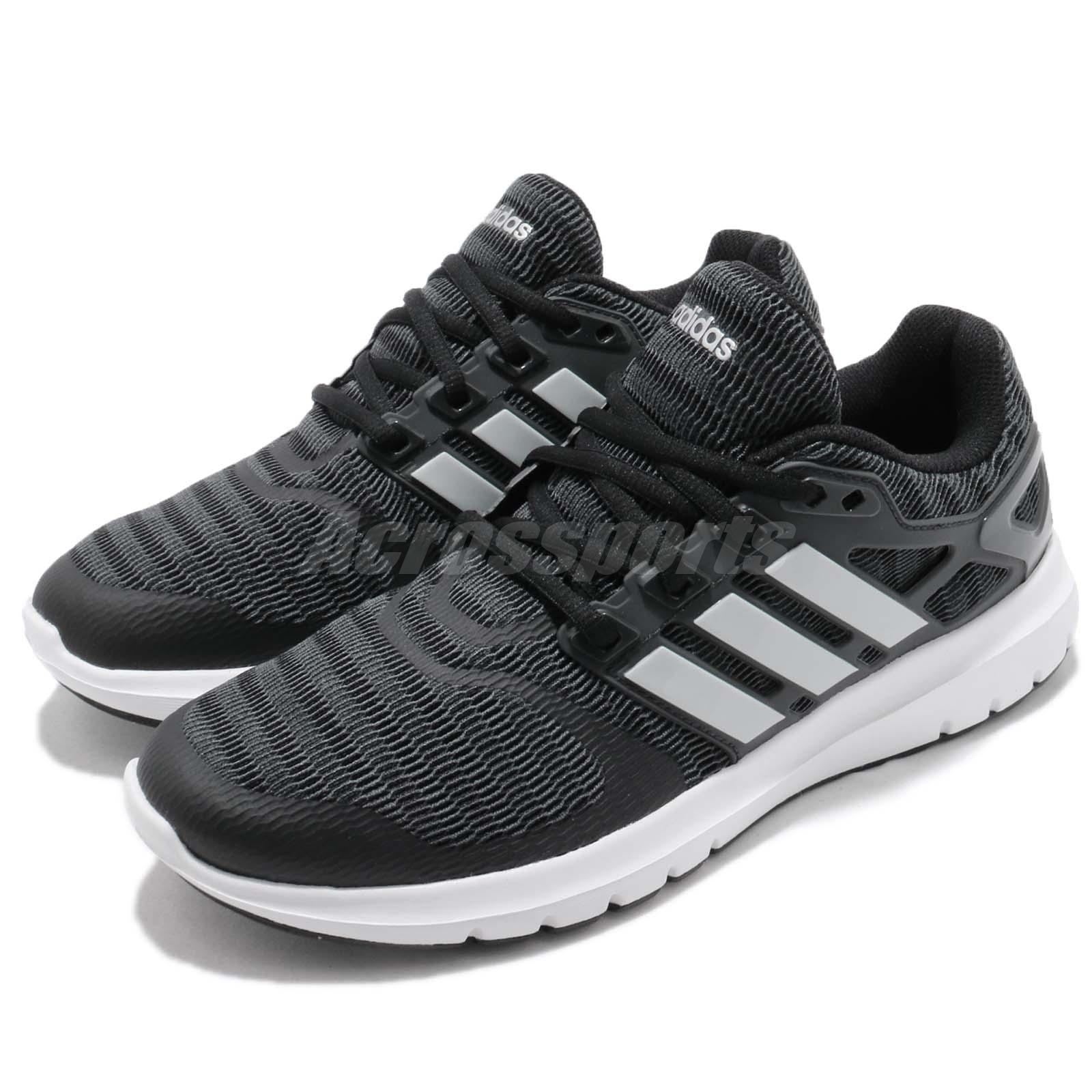 separation shoes 3763e 95917 Details about adidas Energy Cloud V Black Silver White Women Running Shoes  Sneakers B44846