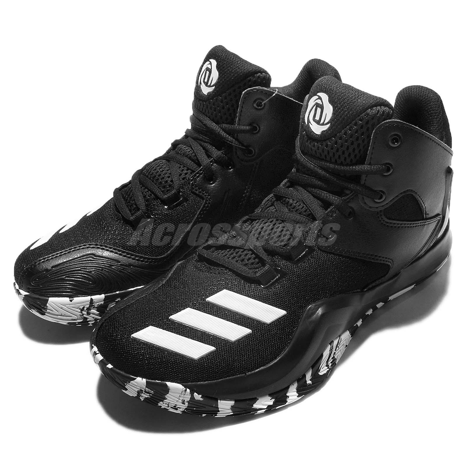 adidas D Rose 773 V 5 Derrick Black White Camo Mens ...