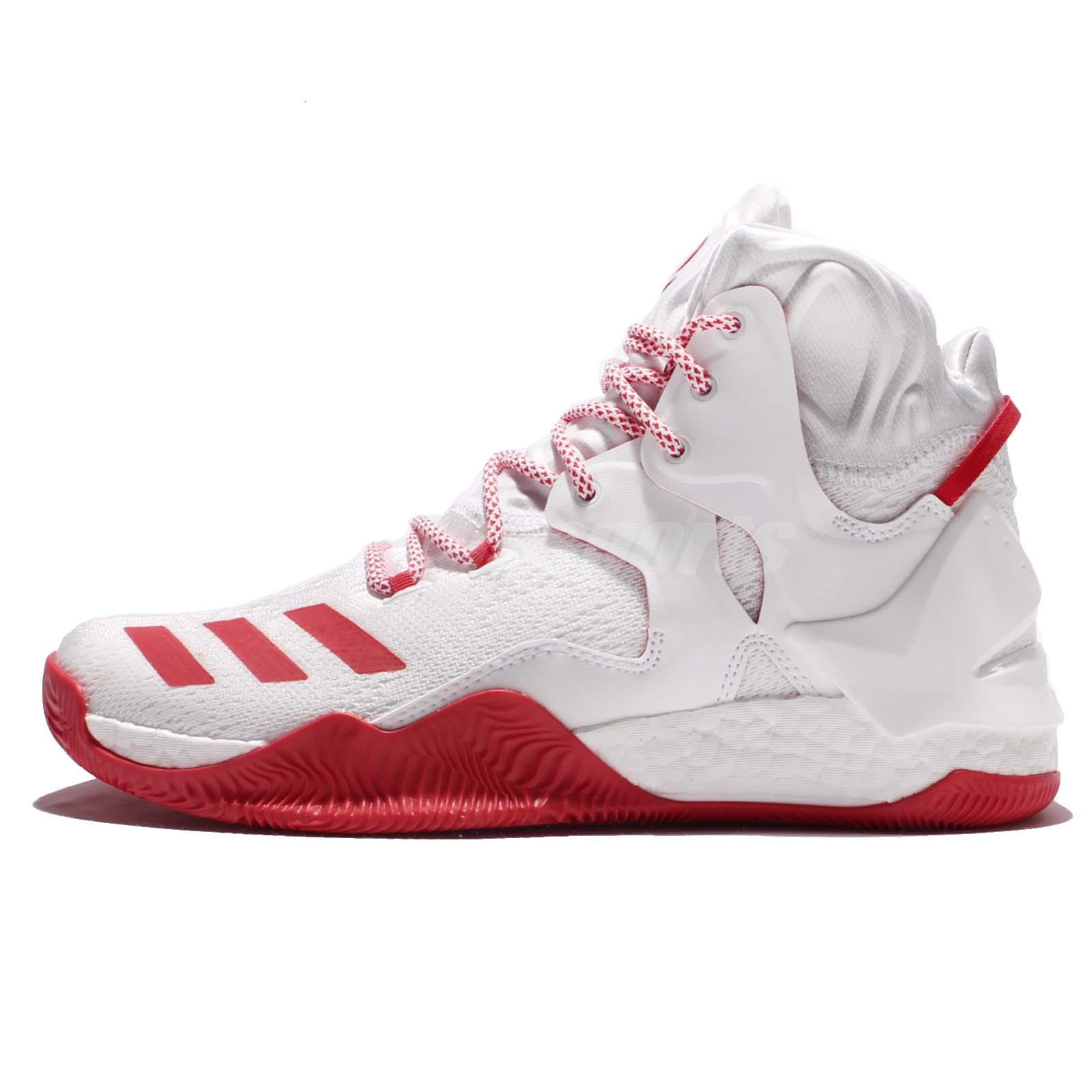 adidas D Rose 7 VII Derrick White Ray Red Mens Basketball ...