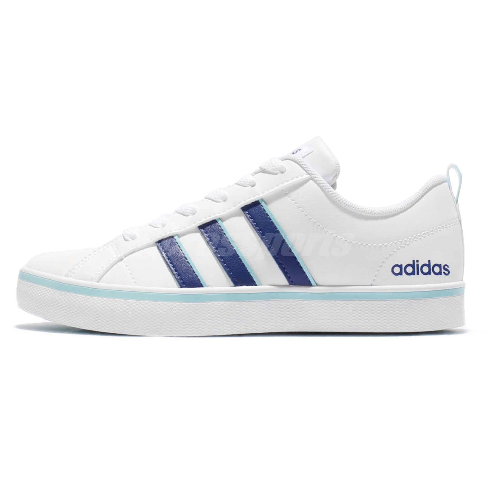 adidas neo label vs pace w white navy women shoes sneakers. Black Bedroom Furniture Sets. Home Design Ideas