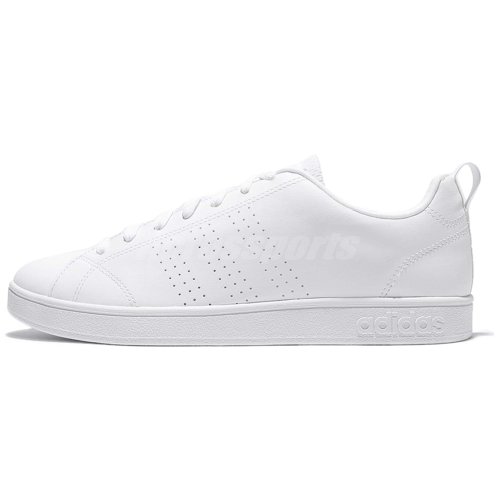 new product 58f68 8b325 adidas Neo Advantage Clean VS Triple White Men Casual Shoes Sneakers B74685