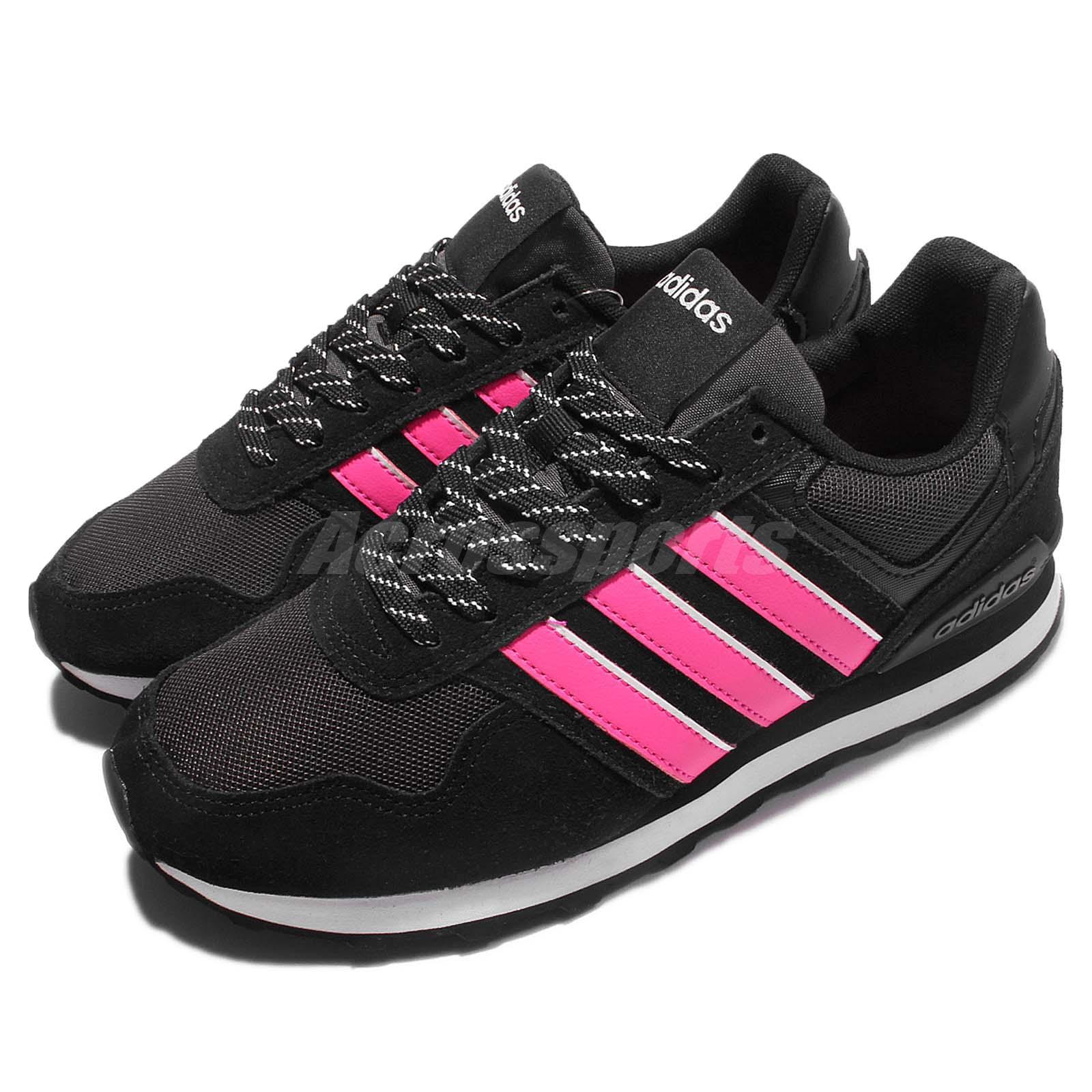 adidas neo label 10k w black pink women classic shoes. Black Bedroom Furniture Sets. Home Design Ideas