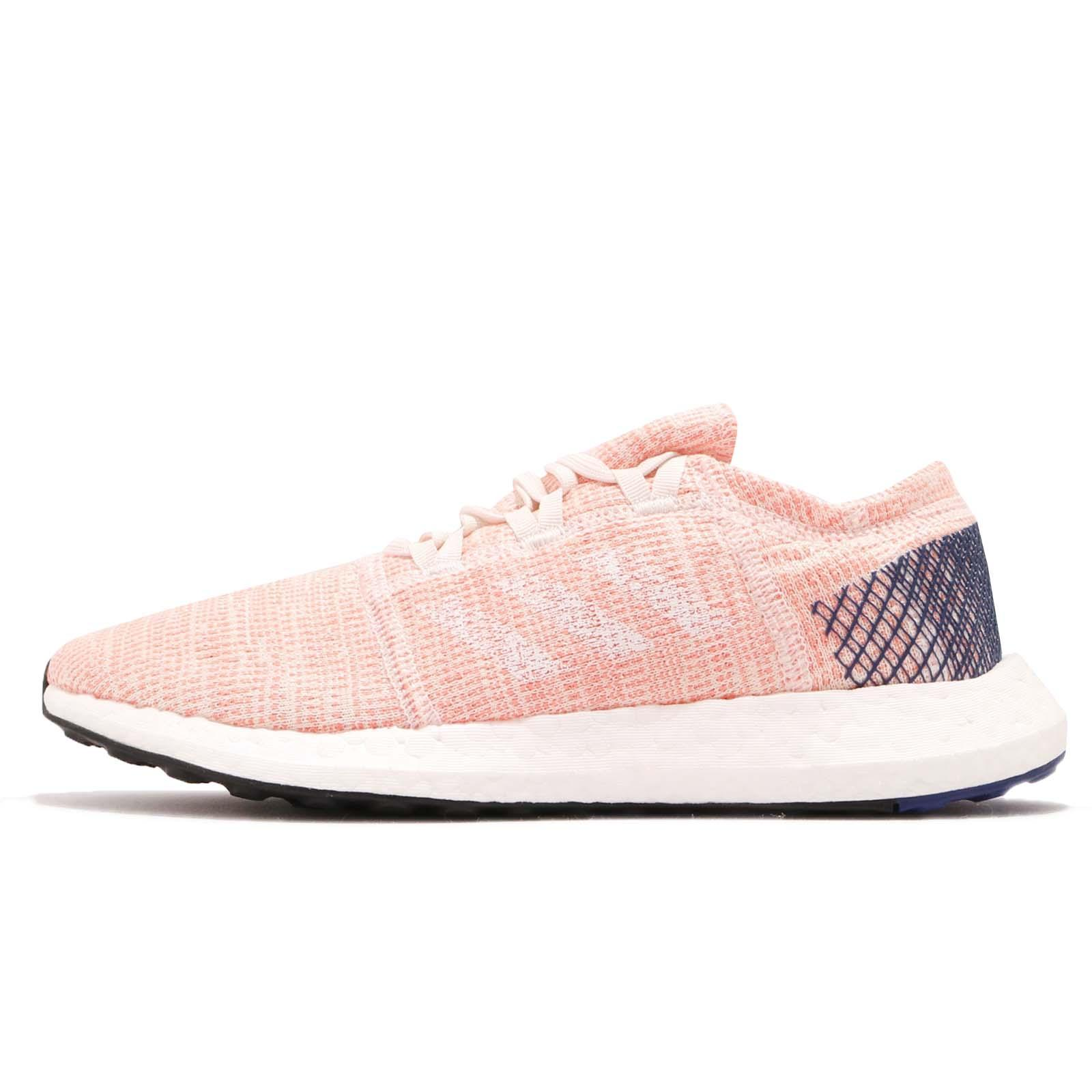6bfe1c99f78 adidas PureBOOST Go W Pink Mystery Ink White Women Running Shoes Sneakers  B75666