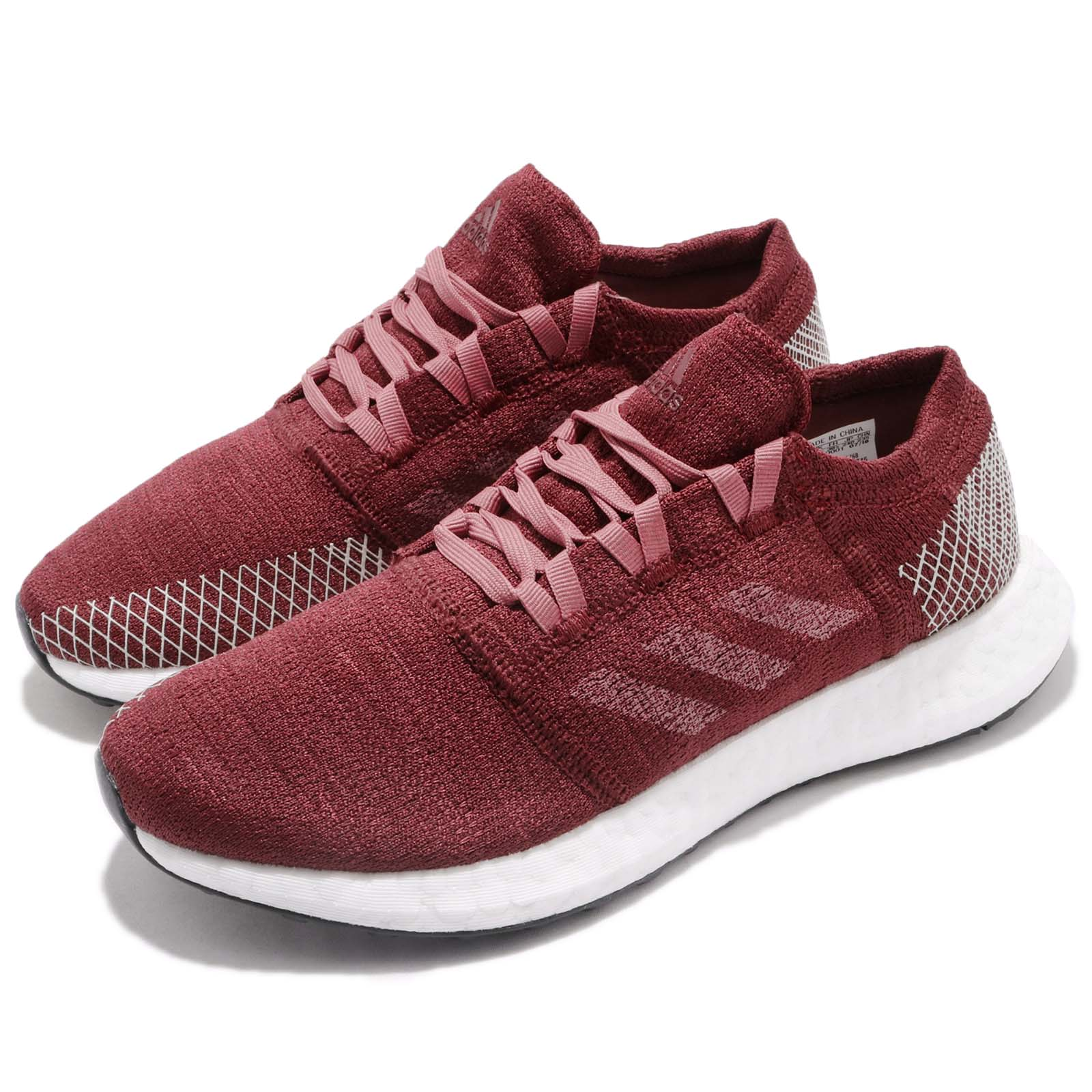 e44c921fb739d Details about adidas PureBOOST Go W Noble Trace Maroon Women Running Shoes  Sneakers B75768