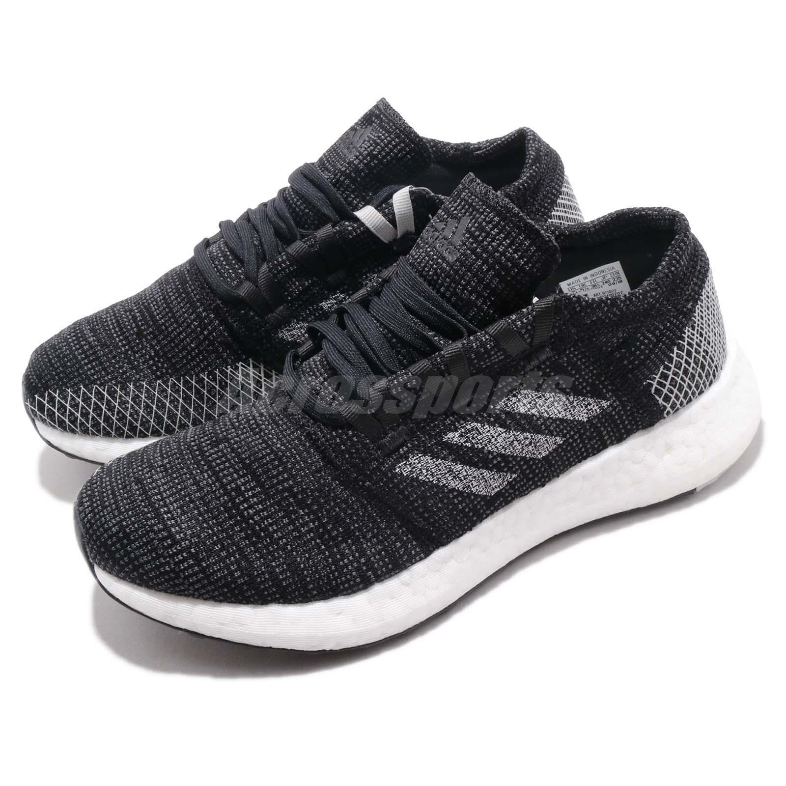2c6d7d5db3fb36 Details about adidas PureBOOST Go W Black Grey White Women Running Shoes  Sneakers B75822