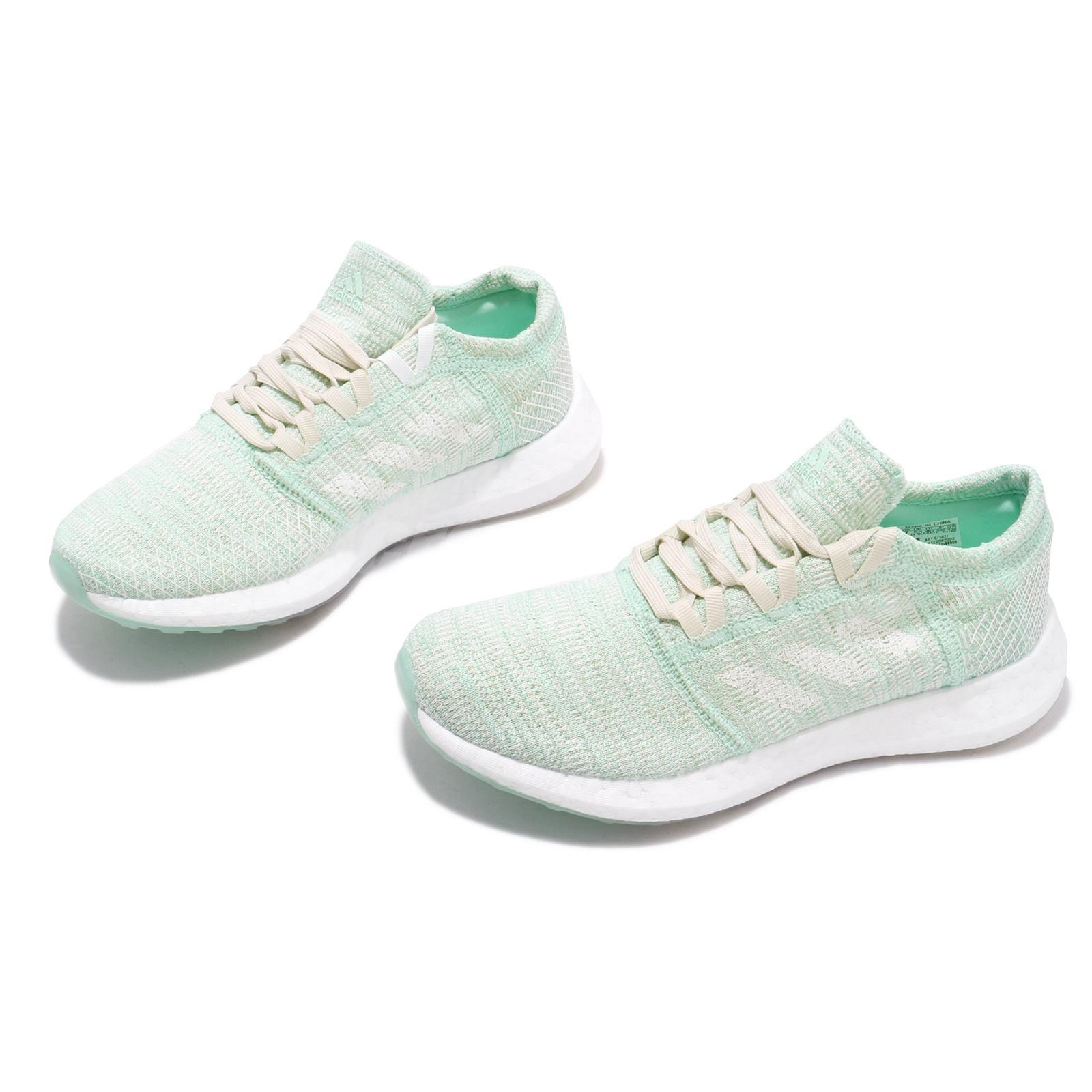 Détails sur adidas PureBOOST Go W Clear Mint White Women Running Shoes Sneakers B75827