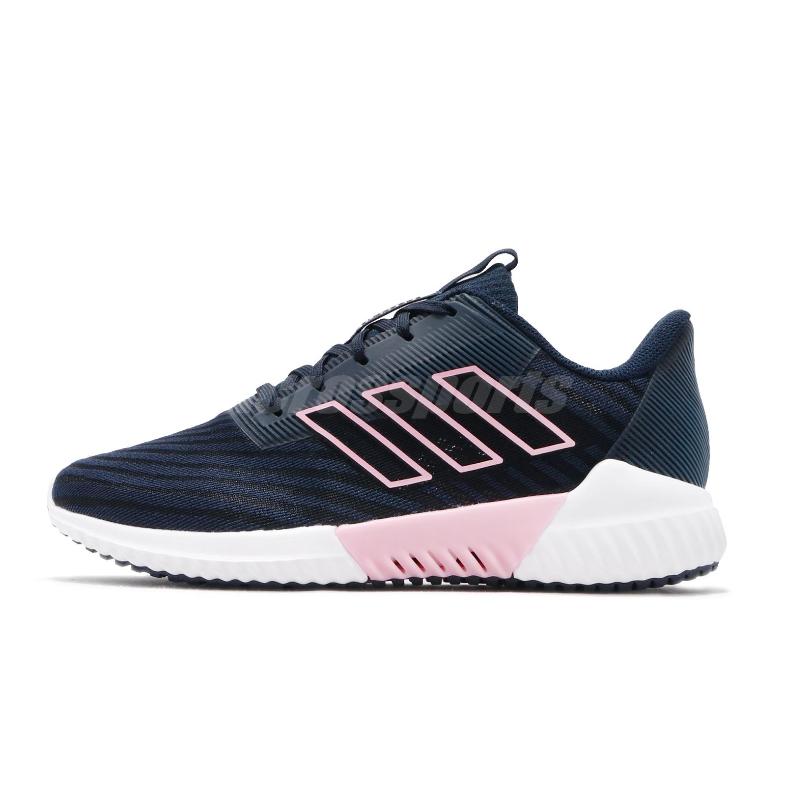 the latest a5f16 eb043 Details about adidas Climacool 2.0 W Navy Pink White Women Running Shoes  Sneakers B75843