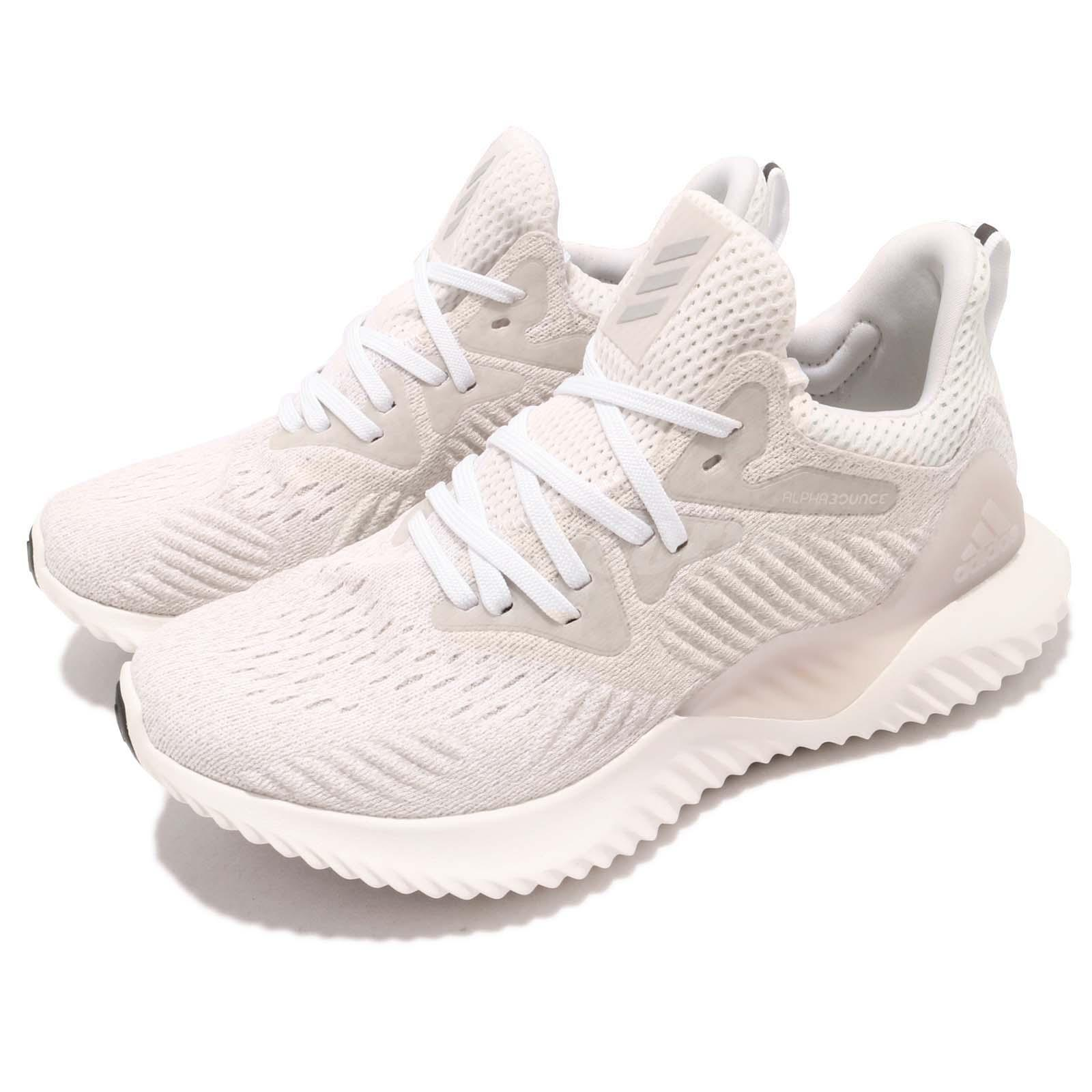 a45b5405f5d80 Details about adidas Alphabounce Beyond W White Grey Black Women Running  Shoes Sneakers B76048