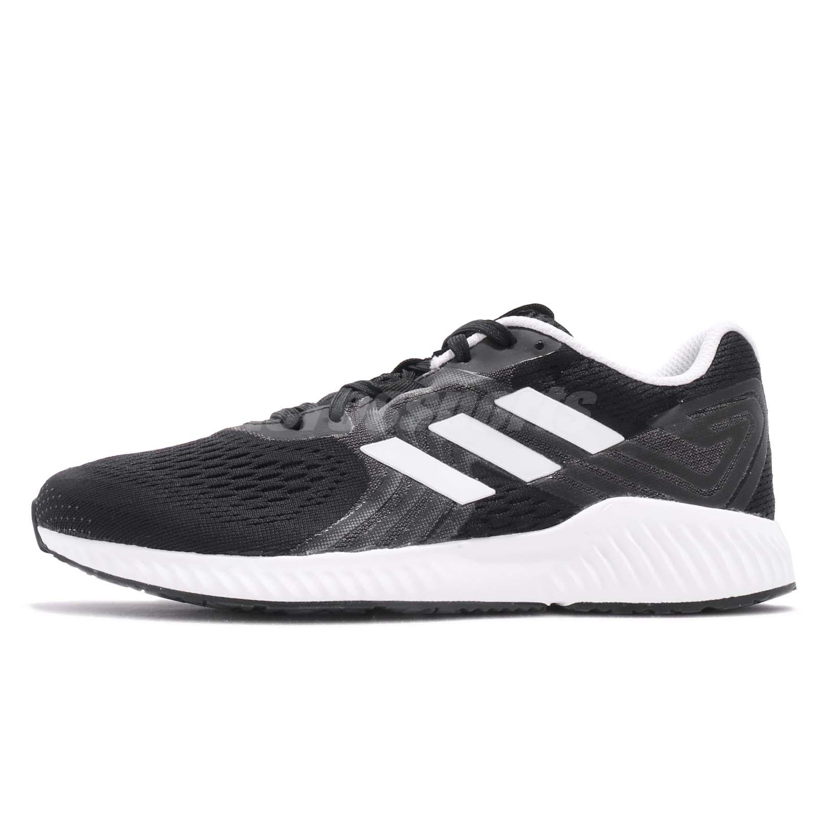 Details about adidas AeroBOUNCE 2 W Black White Women Running Training  Shoes Sneakers B96345