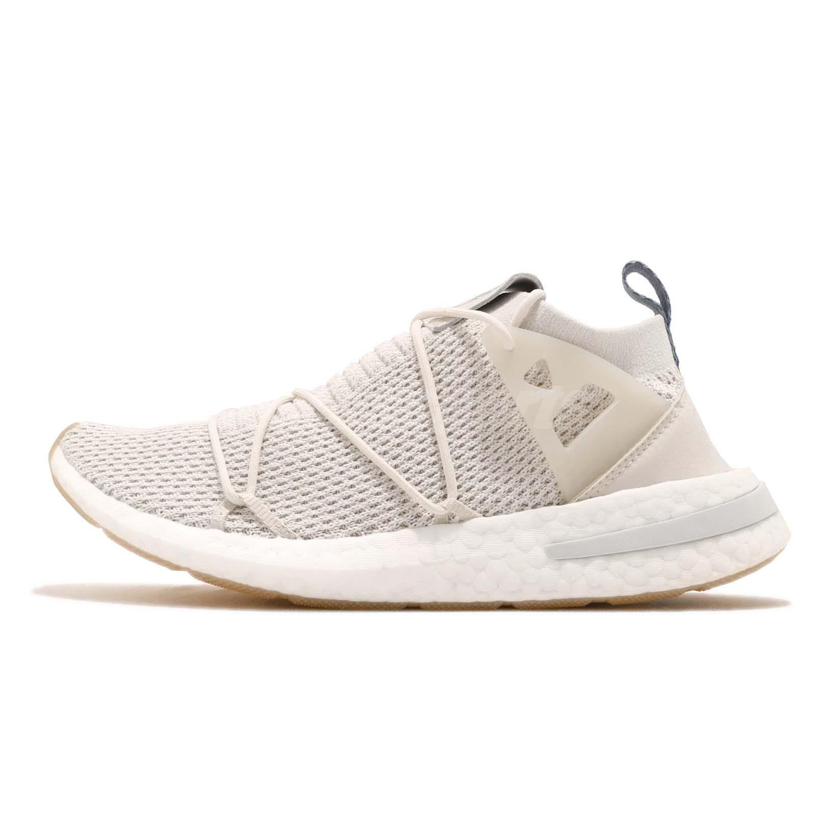 adidas Originals ARKYN PK W Primeknit Boost Talc Linen Women Running Shoe  B96509 33a5efd1f