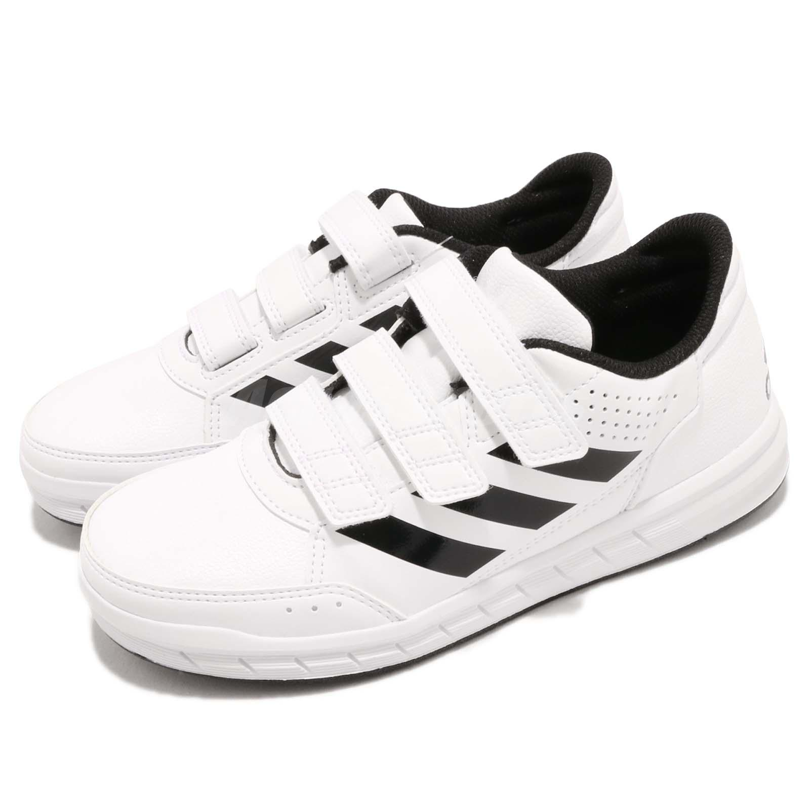 buy online 508be 91317 Details about adidas AltaSport CF K White Black Strap Kid Junior Youth Shoes  Sneakers BA7458