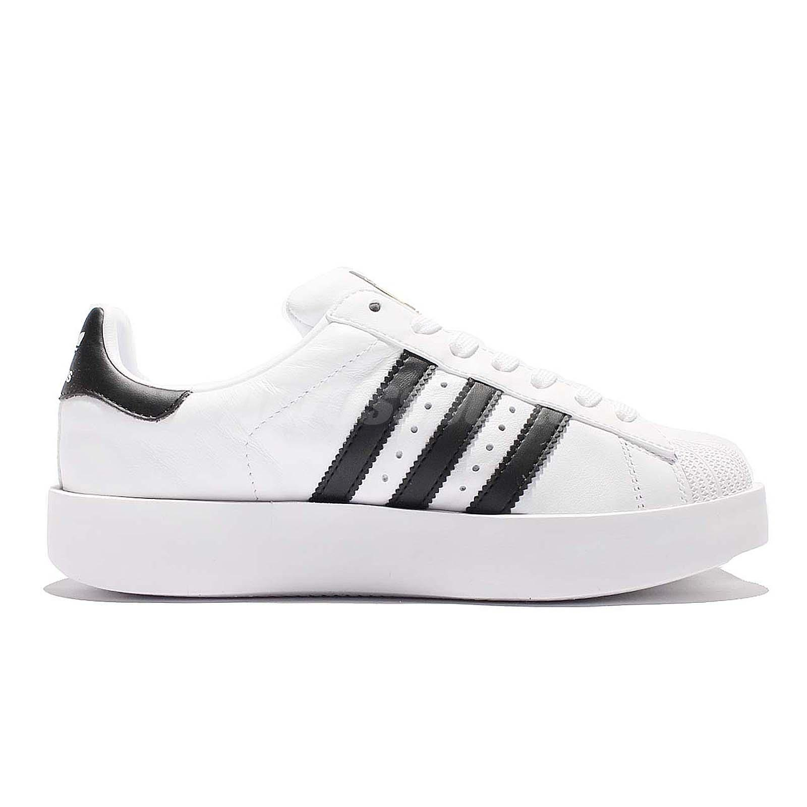 87bd95c03614 adidas Originals Superstar Bold Platform W White Gold Women Classic ...