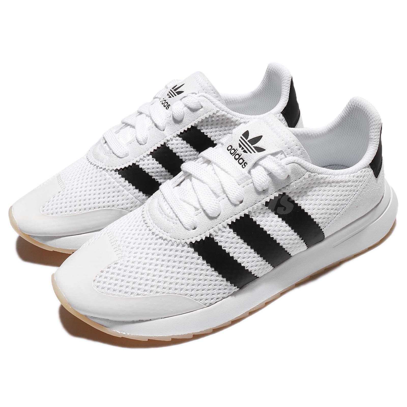 Mejores zapatos Adidas Flashback W Blanco y negro de la base