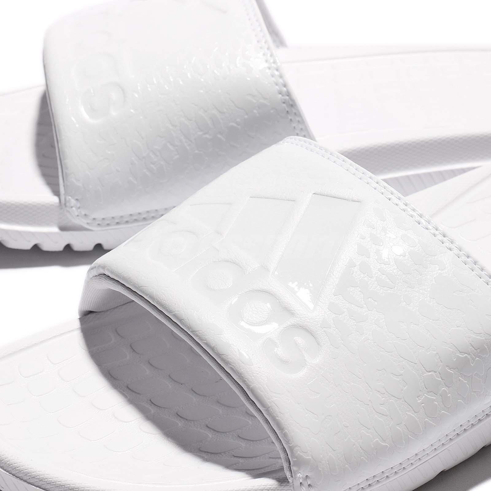best sneakers b1ced de36e adidas Performance Voloomix GR Triple White Men Sandal Slipper ...