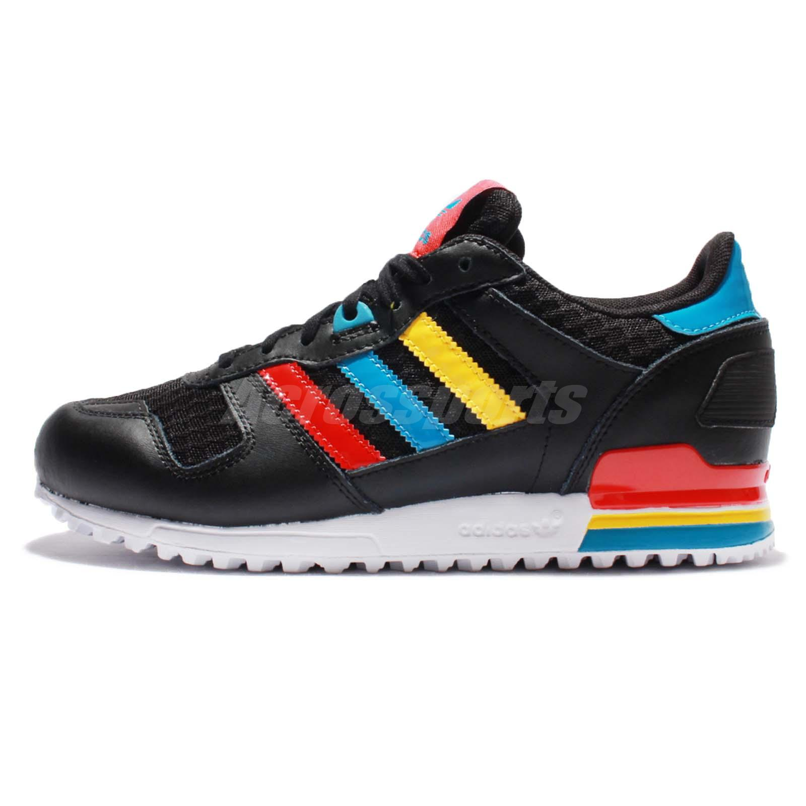 9654d974f ... low price adidas originals zx 700 w black red blue yellow womens shoes  sneakers ba9311 b4ee1