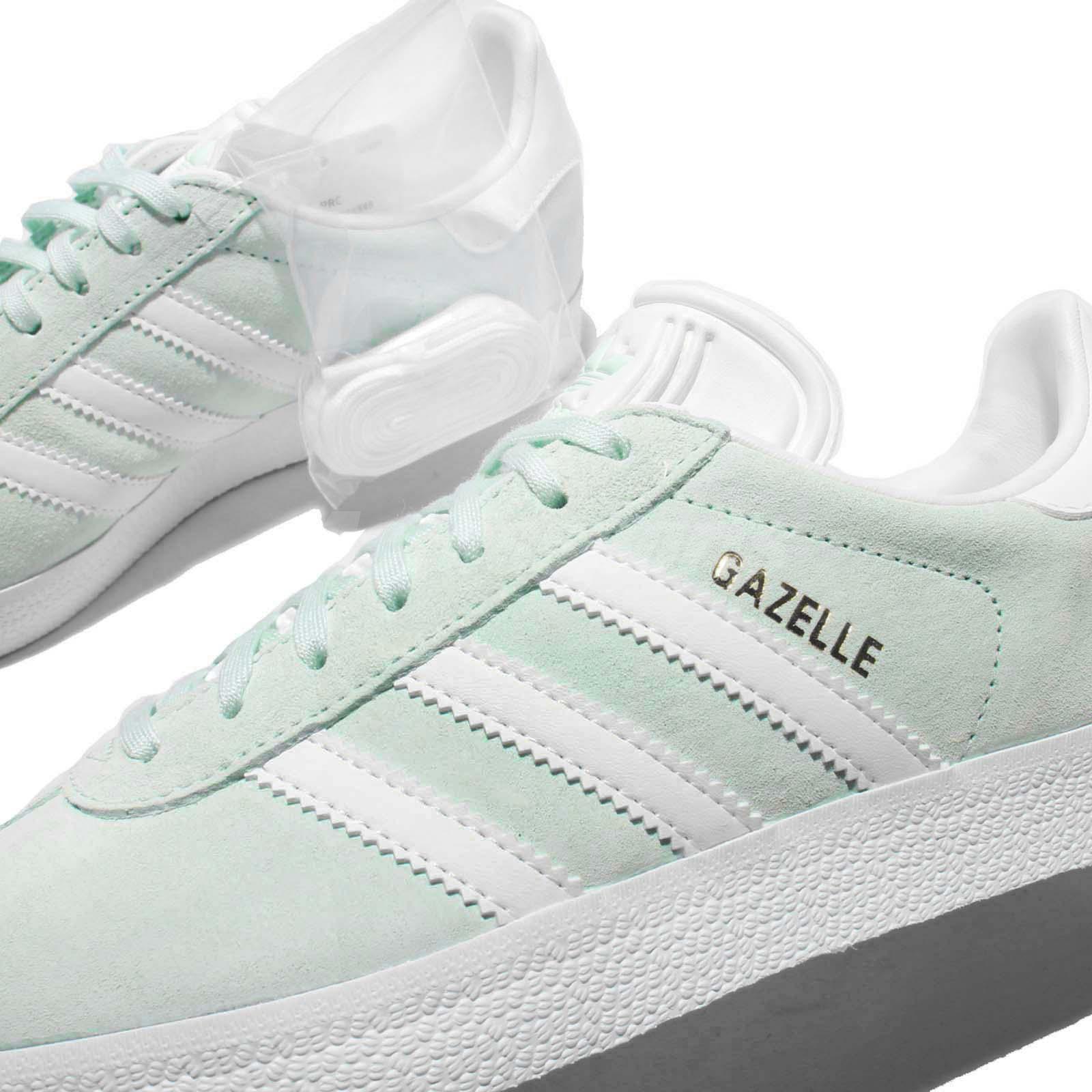 Men's Adidas Gazelle OG Shoes [KE2719LA] Ice Mint Kew Bella