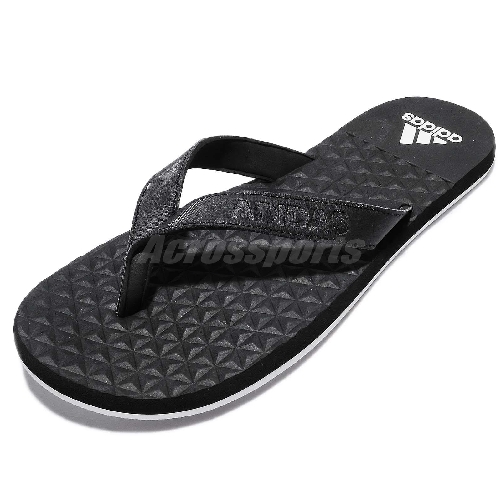 separation shoes bc7cf 4b220 ... promo code adidas performance eezay soft thong black white men sandal  flip flops bb0507 210fa 44f57