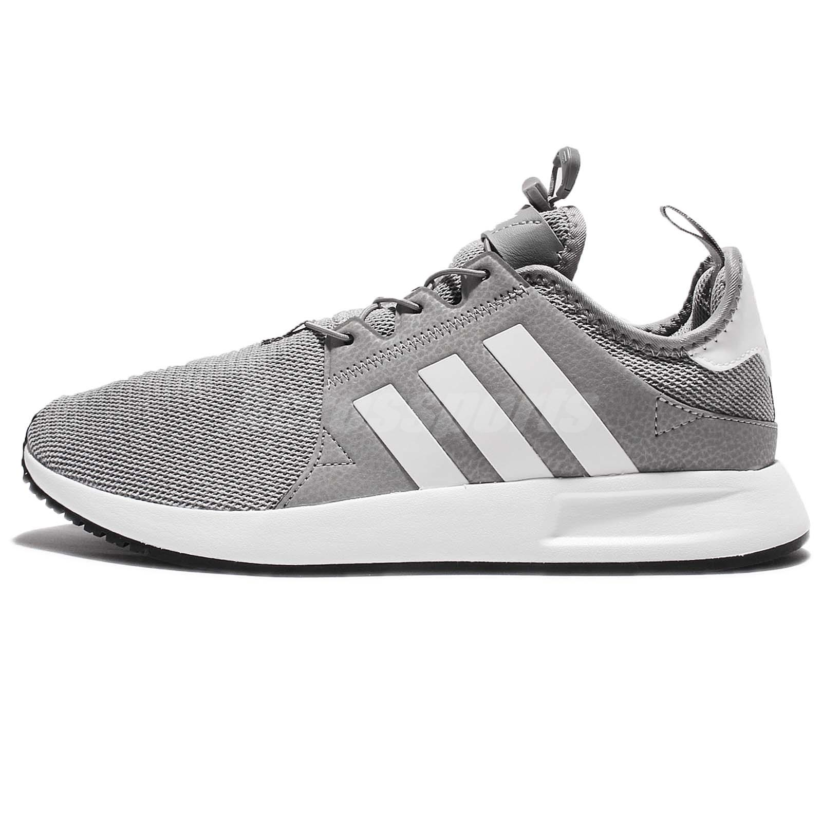 adidas x plr grey white reflective men running shoes. Black Bedroom Furniture Sets. Home Design Ideas