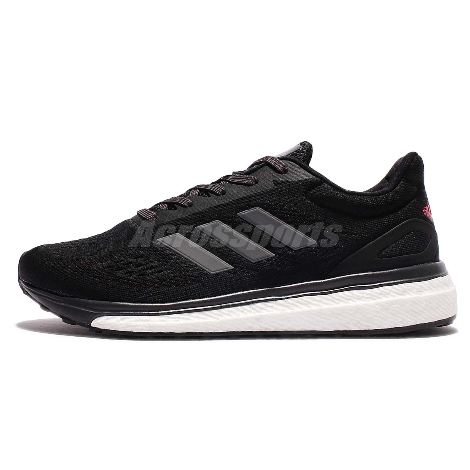 adidas response boost women's black