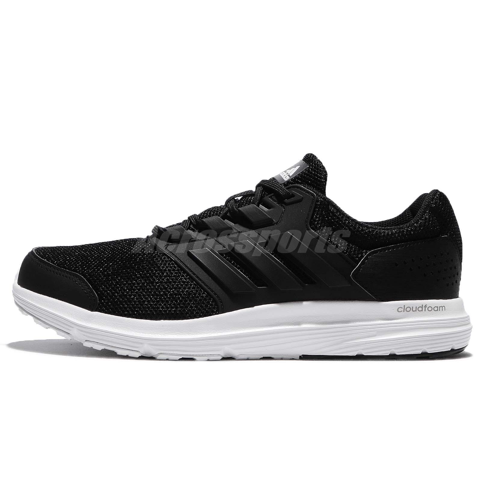 adidas Galaxy 4 M Black White Men Running Shoes Sneakers Trainers BB3563