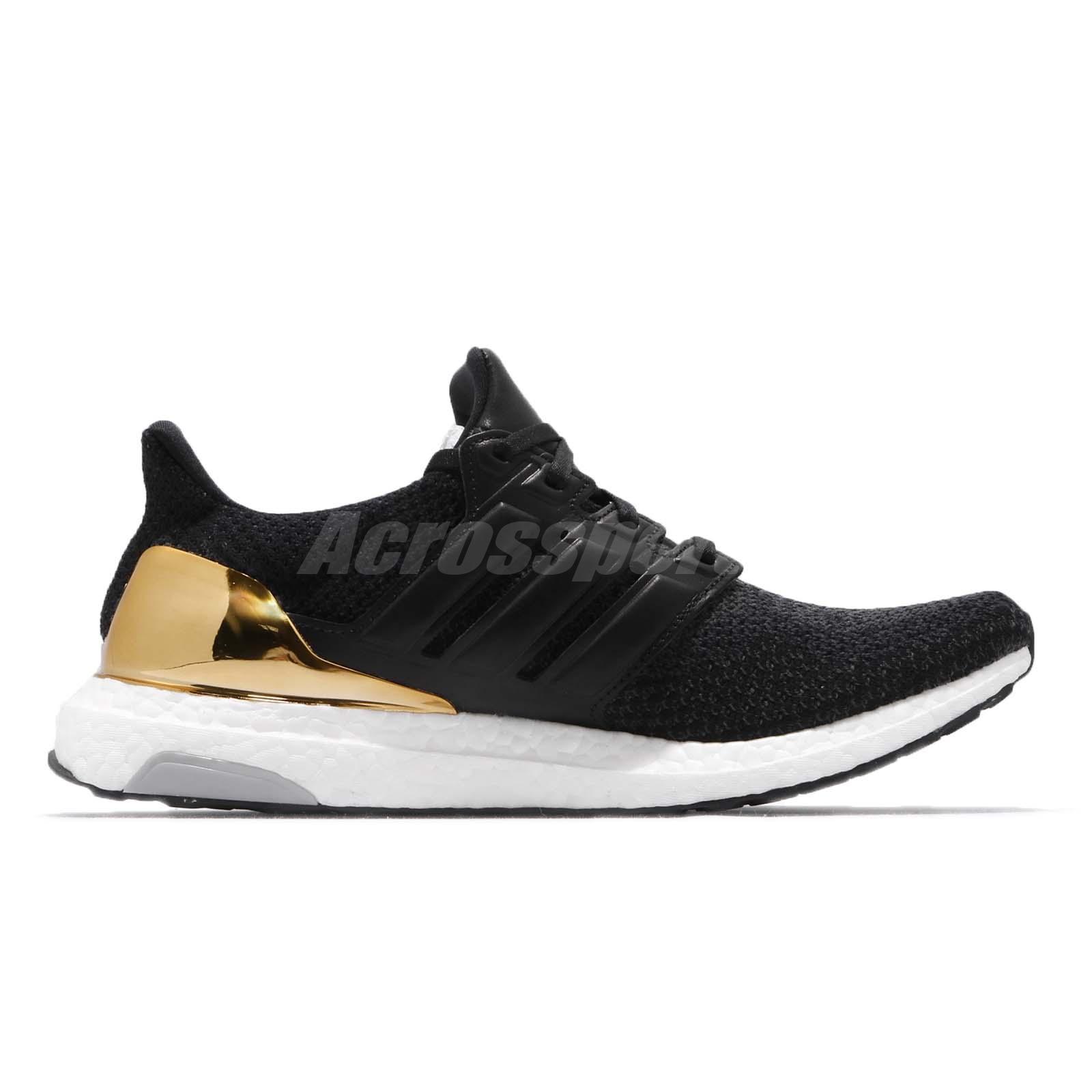 dc08136e955b9 adidas UltraBOOST LTD Olympic Gold Medal Black Mens Womens Running ...