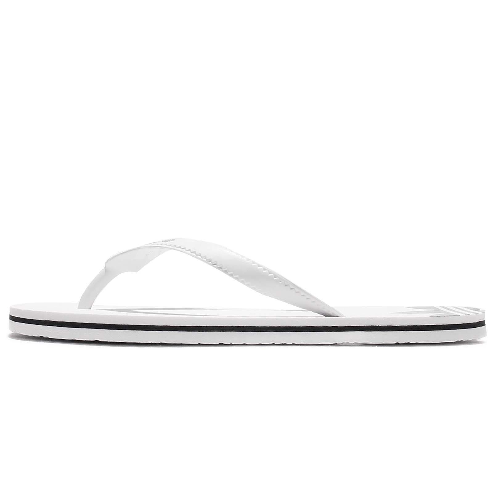 b00820b47 adidas Originals Adisun W White Black Women Sandal Thong Flip-Flop Sandal  BB5105