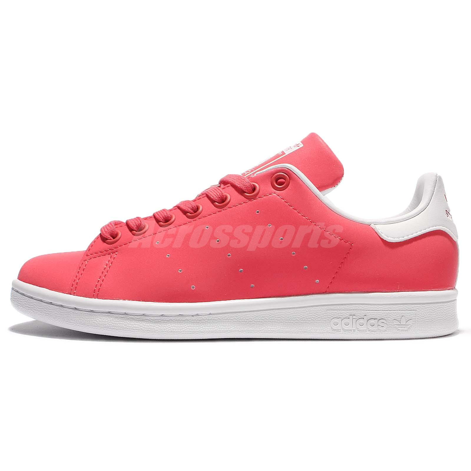 adidas Originals Stan Smith W Pink White Reflective Womens Casual Shoes BB5154