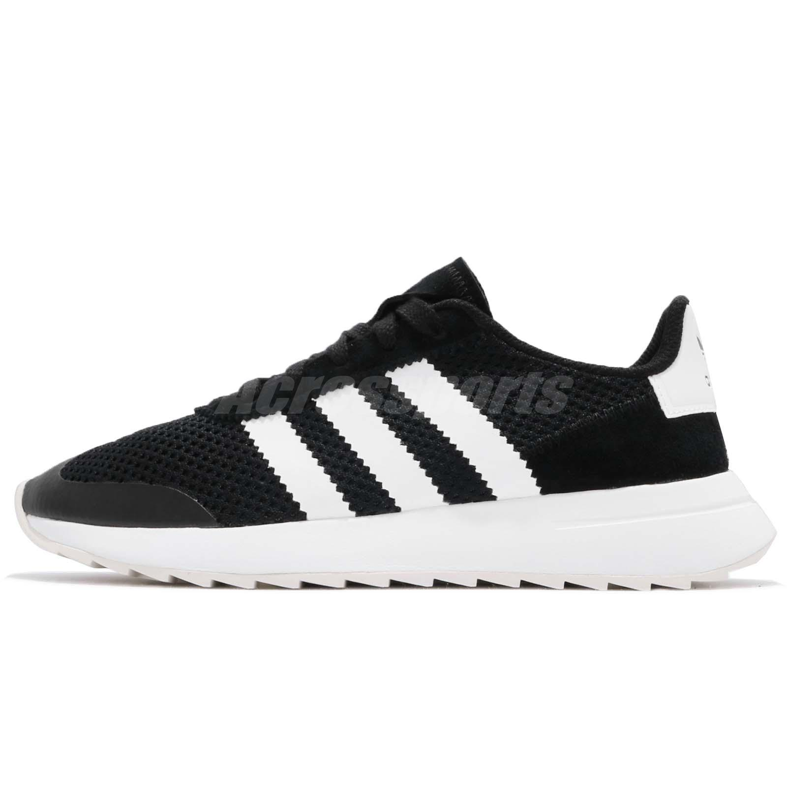 83e47470e81 Details about adidas Originals FLB W Flashback Black White Women Shoes  Sneakers BB5323