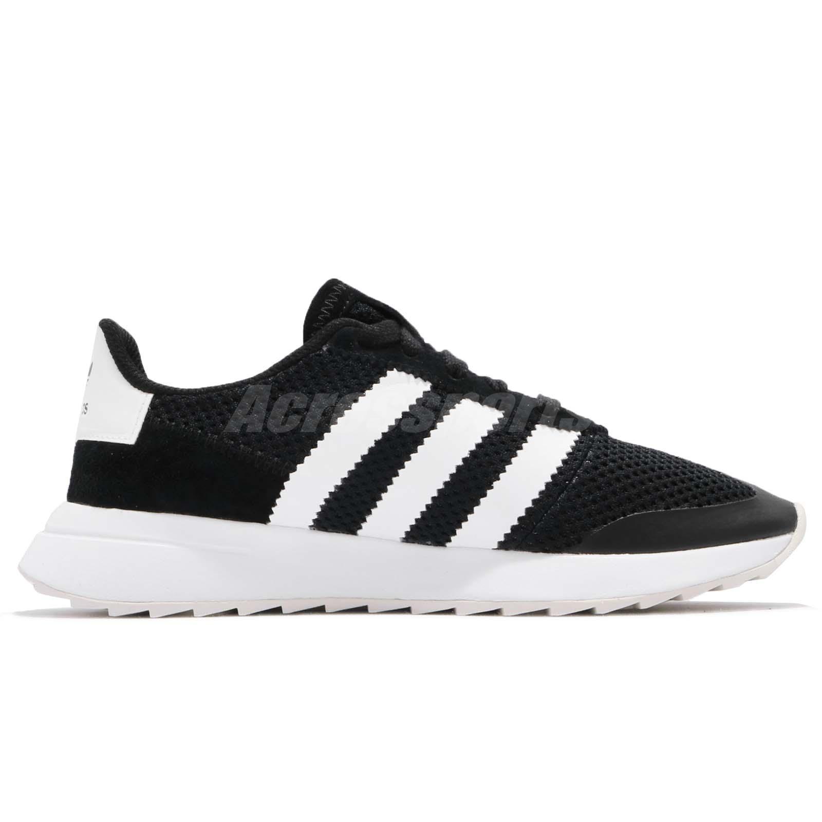 e71c37b420d adidas Originals FLB W Flashback Black White Women Shoes Sneakers ...