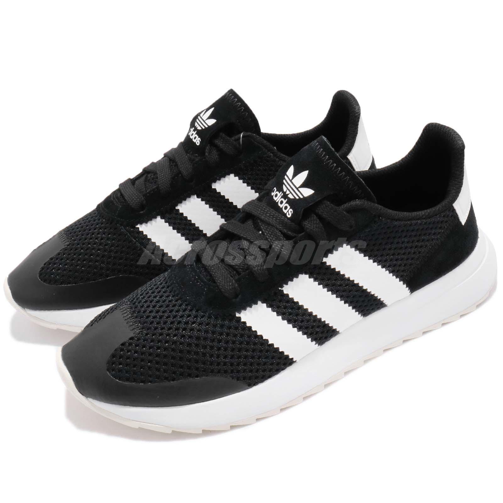 best loved 9d325 a877c adidas Originals FLB W Flashback Black White Women Shoes Sne